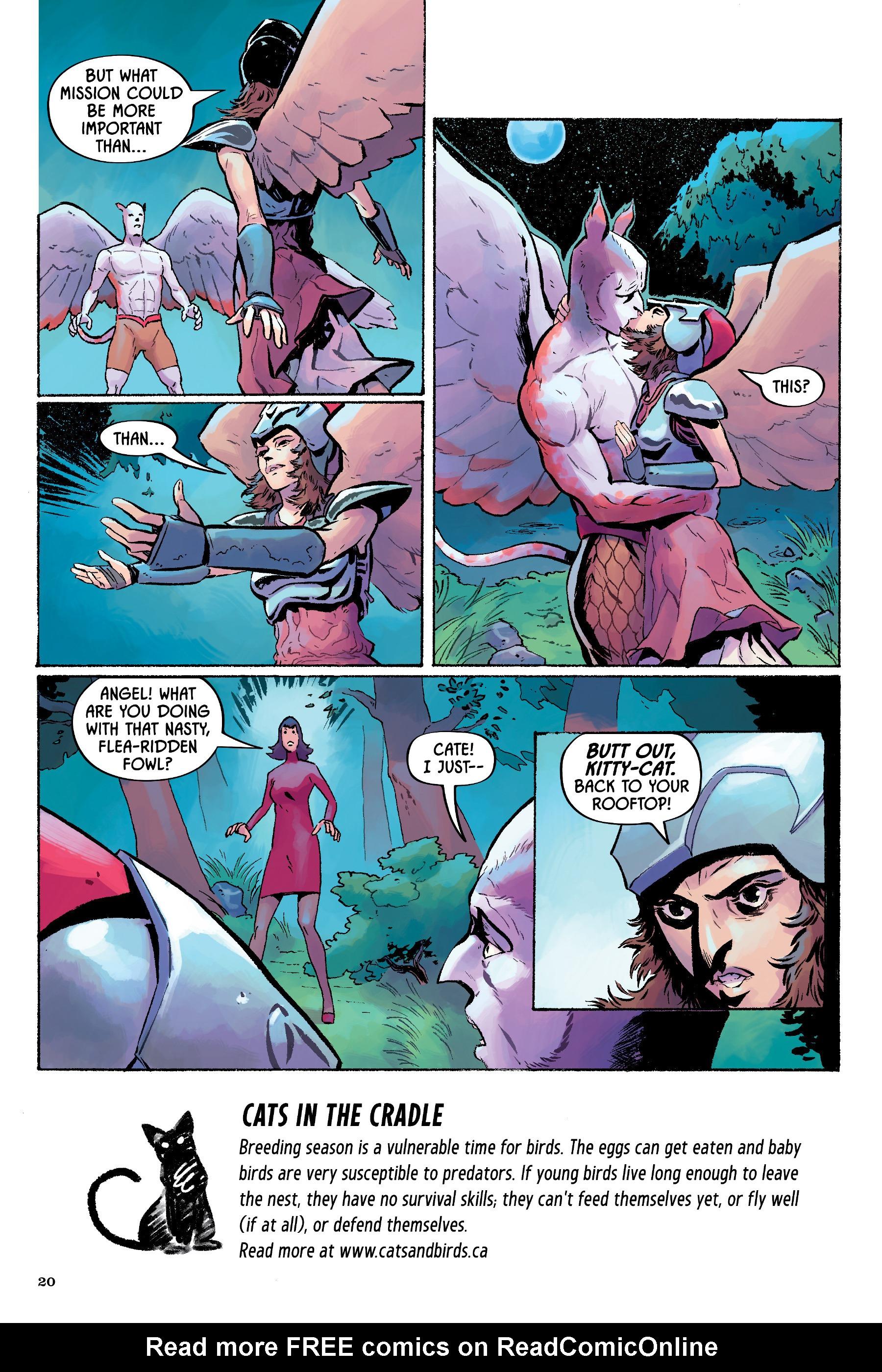 Read online Angel Catbird comic -  Issue # TPB 2 - 21