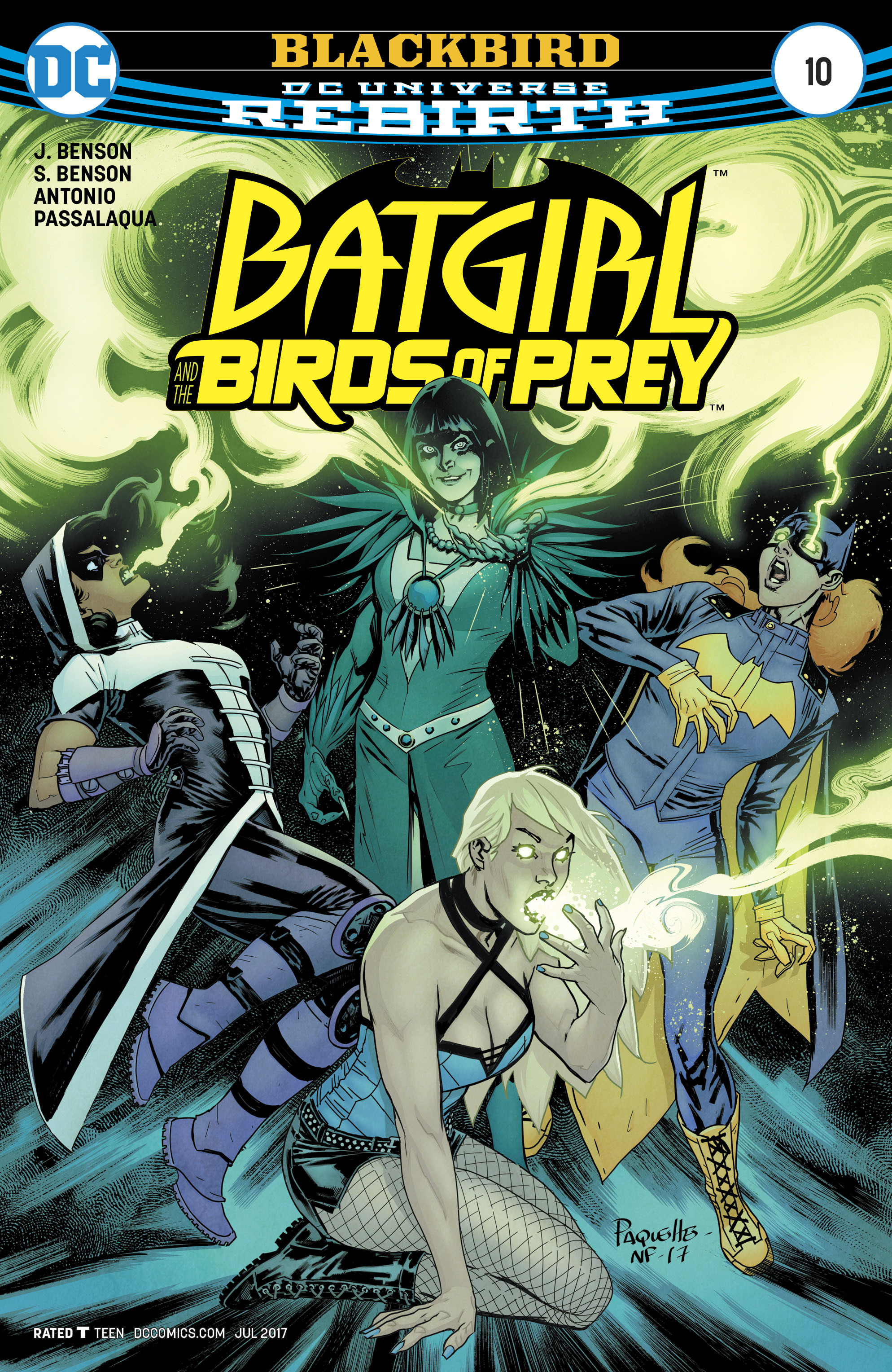 Batgirl and the Birds of Prey 10 Page 1