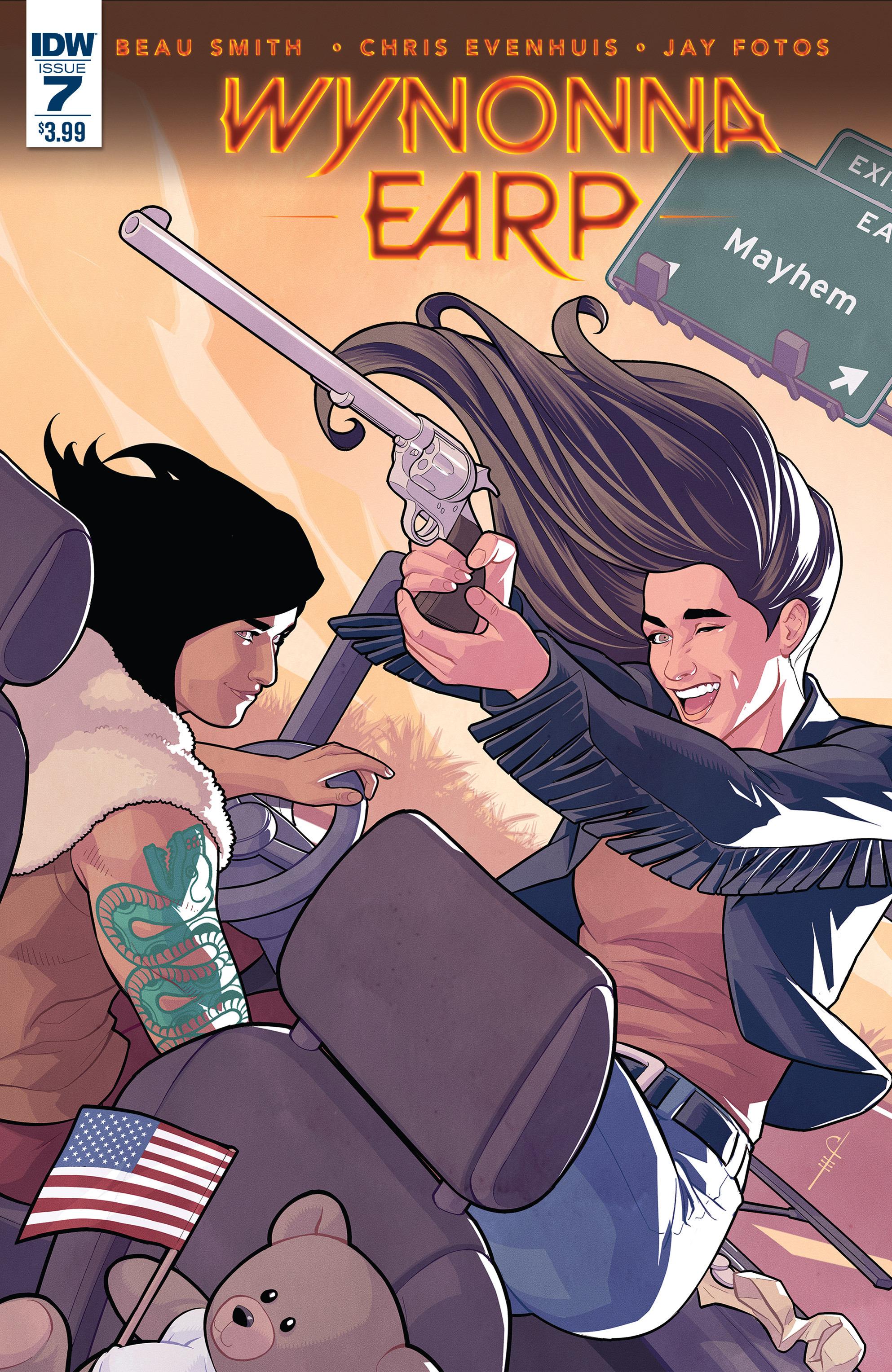 Read online Wynonna Earp (2016) comic -  Issue #7 - 1