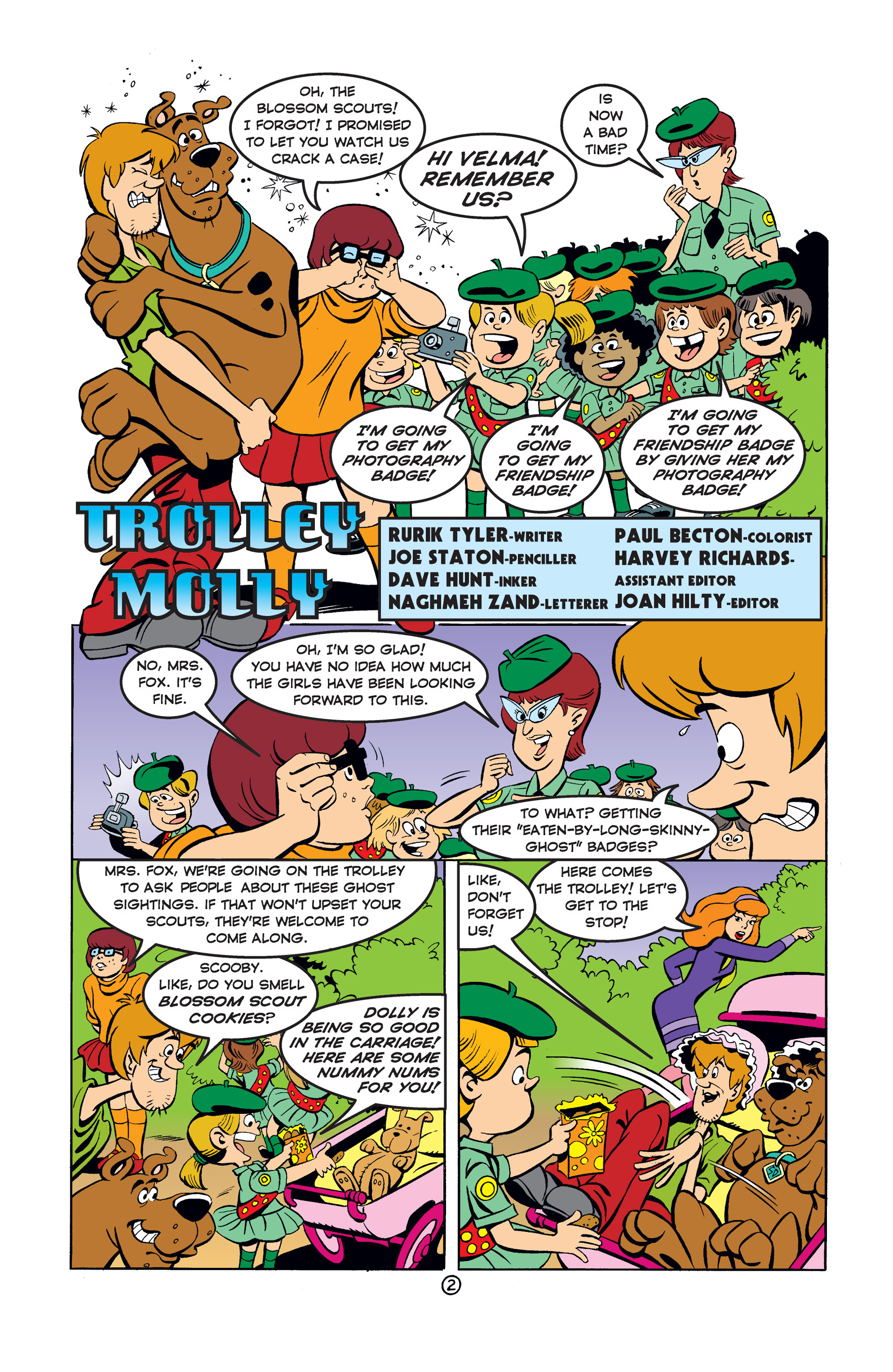 Read online Scooby-Doo (1997) comic -  Issue #41 - 3