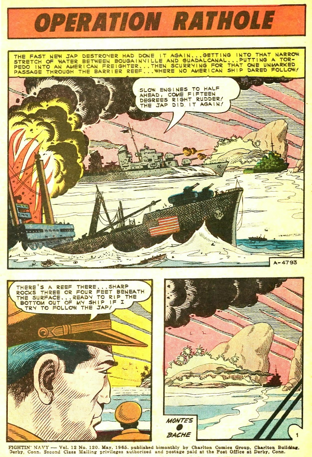 Read online Fightin' Navy comic -  Issue #120 - 3