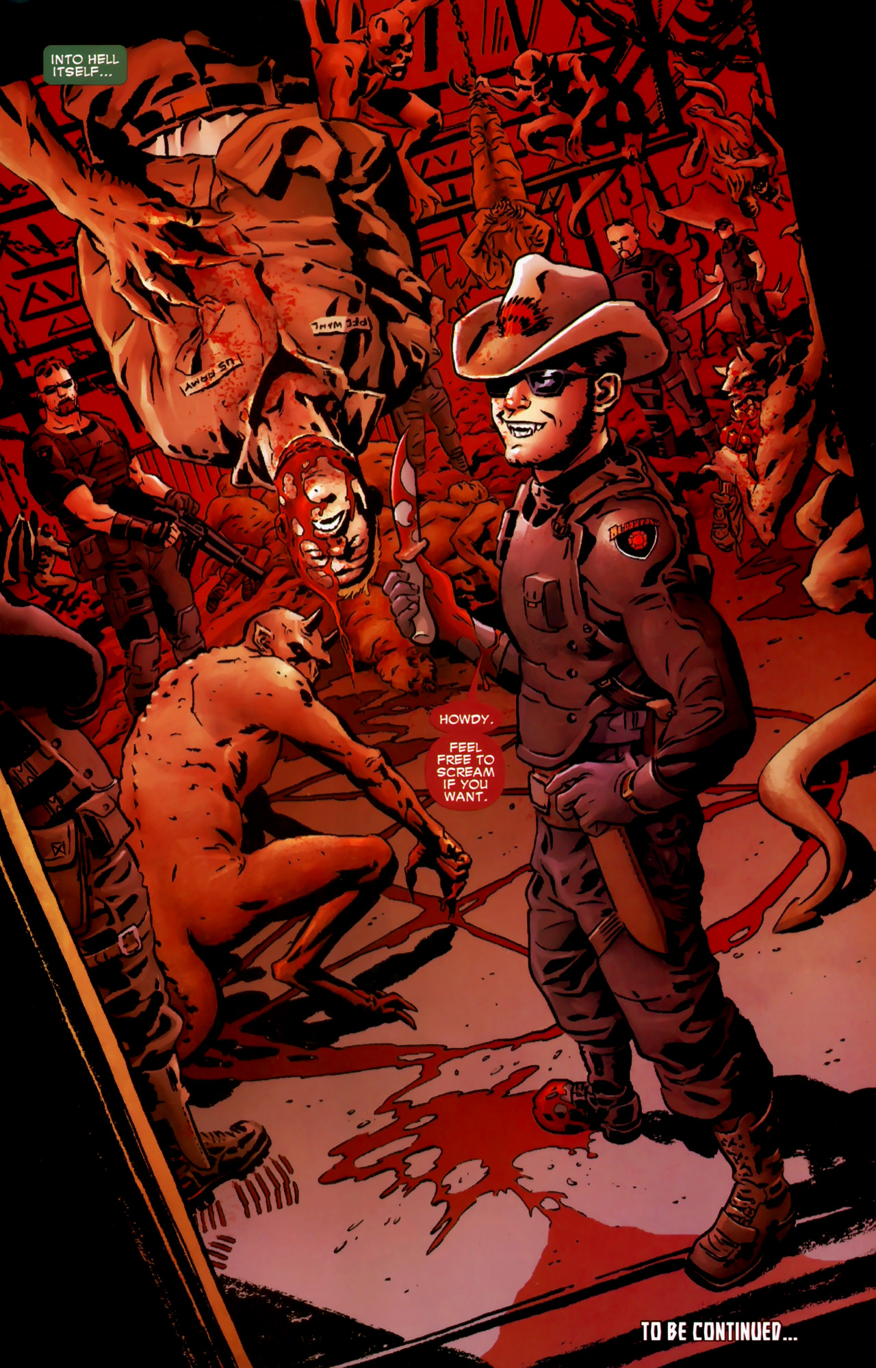 Read online Dead of Night Featuring Devil-Slayer comic -  Issue #1 - 23