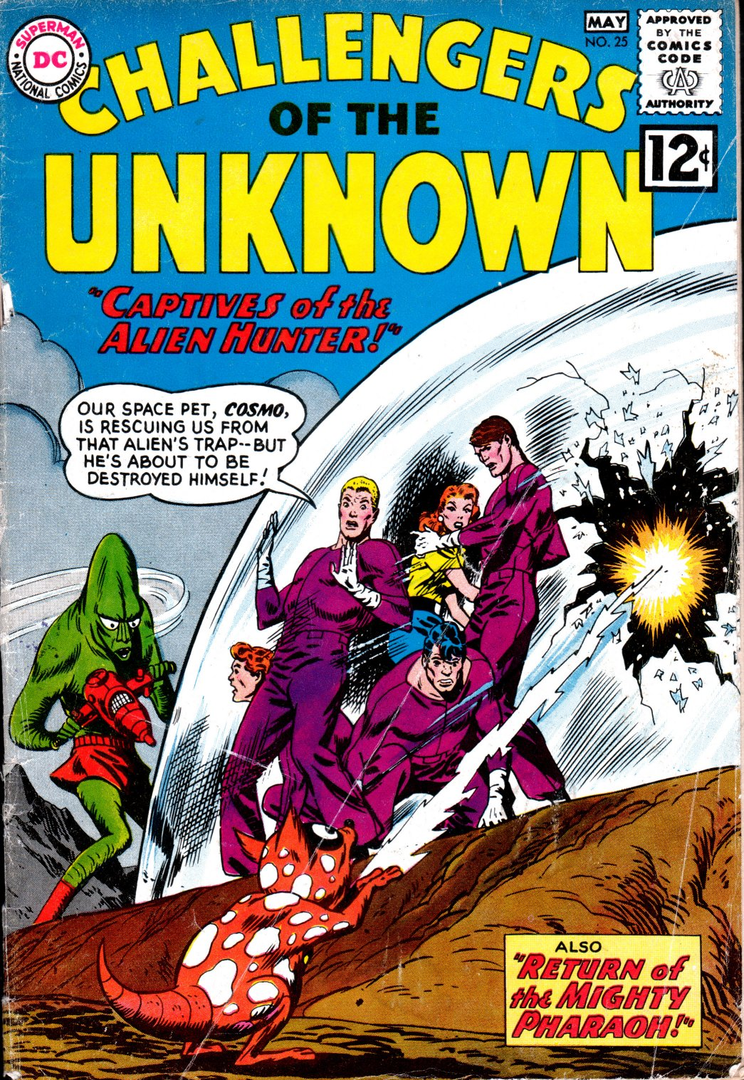 Challengers of the Unknown (1958) 25 Page 1