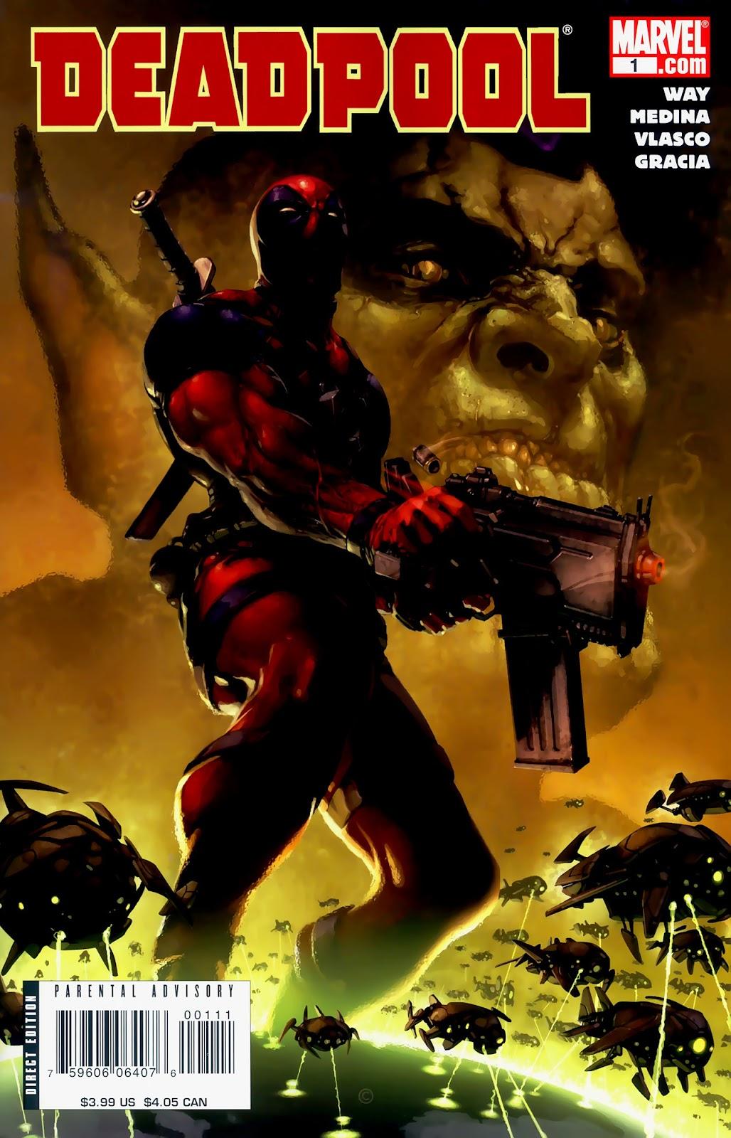 Read online Deadpool (2008) comic -  Issue #1 - 1