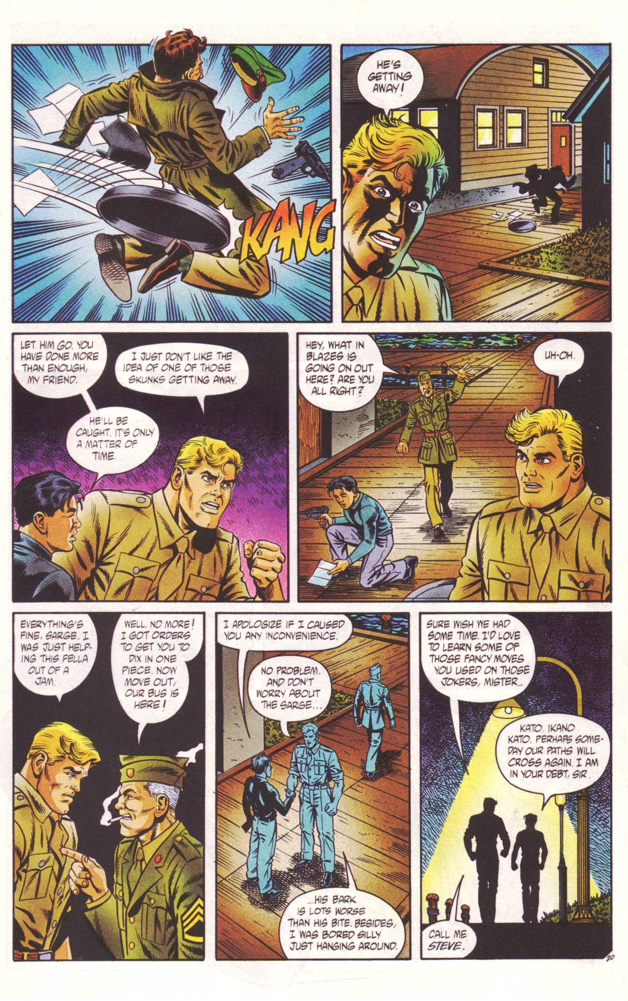 Read online Sting of The Green Hornet comic -  Issue #2 - 21