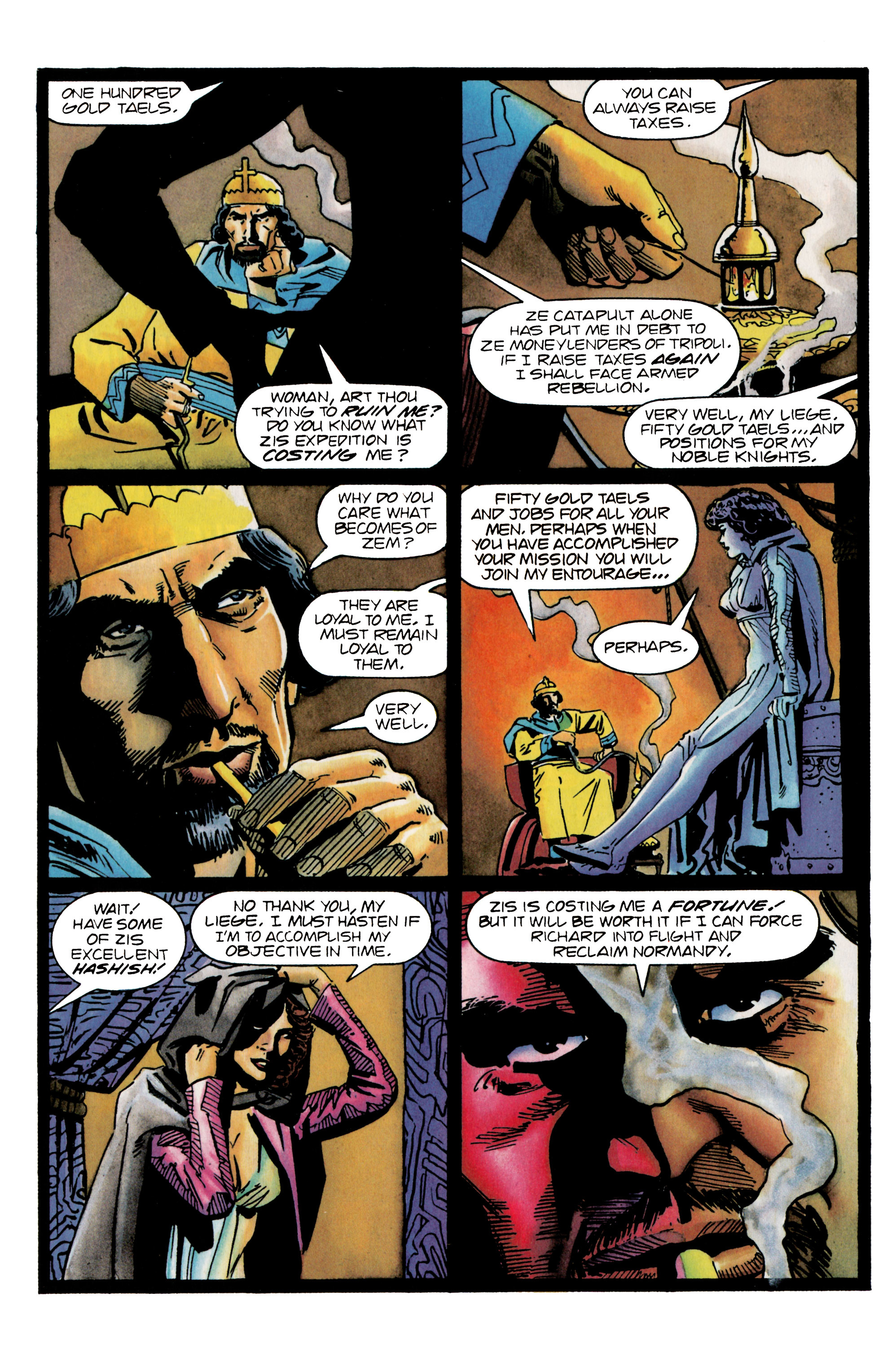 Read online Eternal Warrior (1992) comic -  Issue #25 - 11