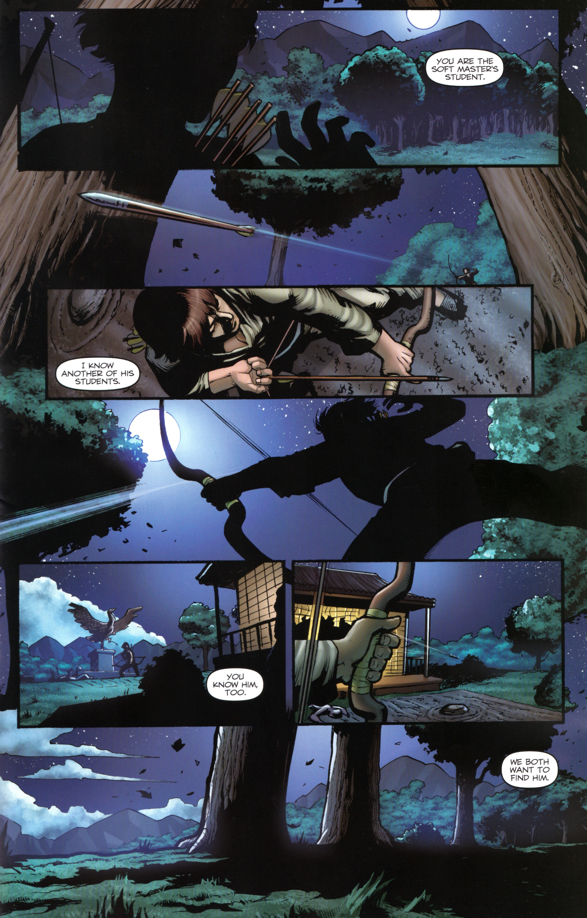 Read online Snake Eyes and Storm Shadow comic -  Issue #17 - 23