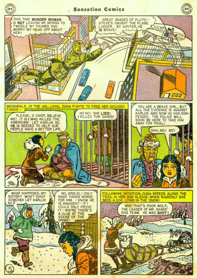 Read online Sensation (Mystery) Comics comic -  Issue #65 - 6