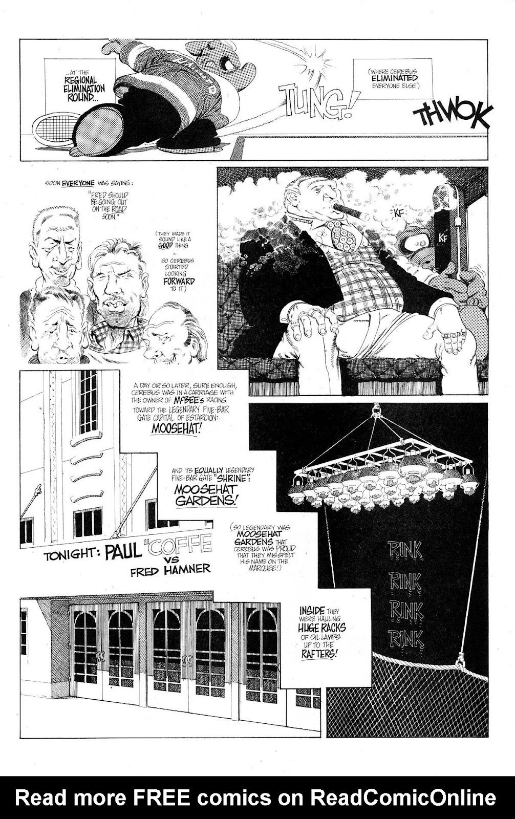 Cerebus Issue #267 #266 - English 9