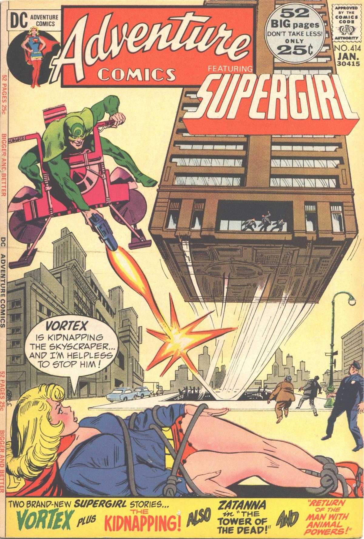 Read online Adventure Comics (1938) comic -  Issue #414 - 1