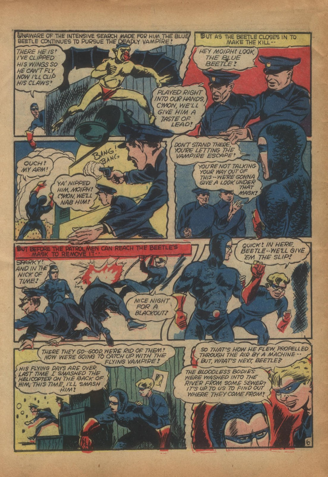 The Blue Beetle issue 15 - Page 58