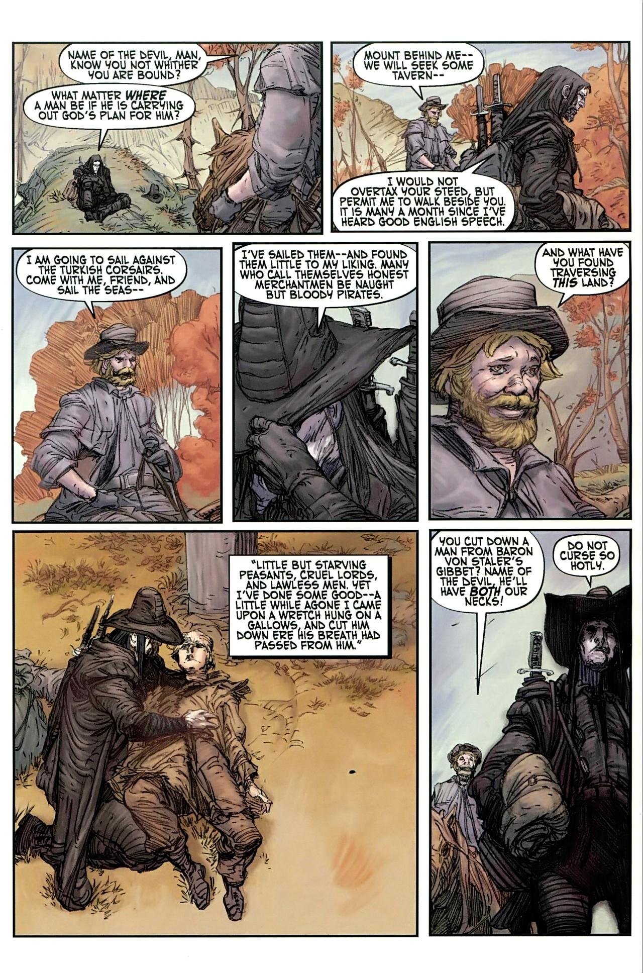 Read online Solomon Kane comic -  Issue #1 - 12