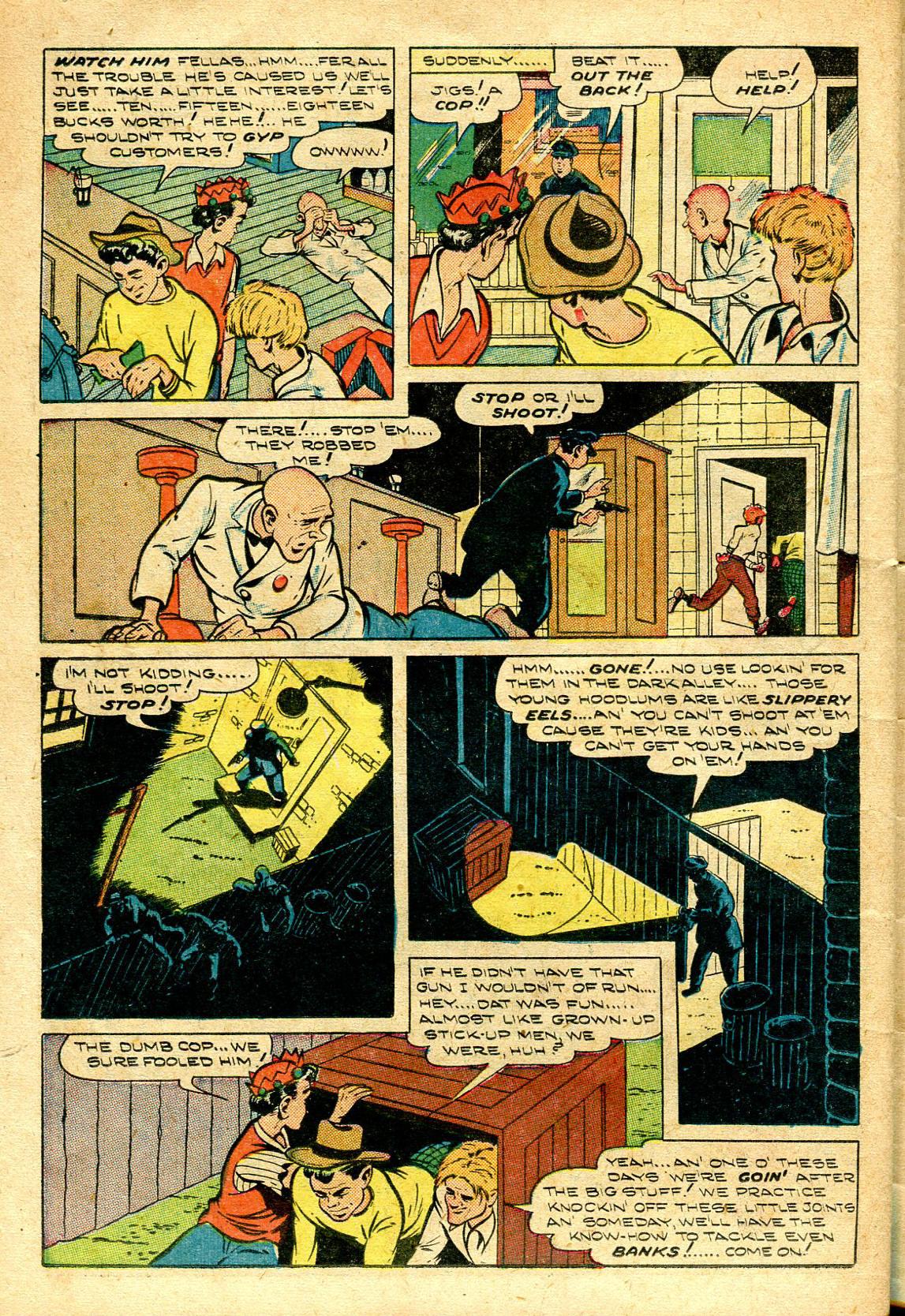 Read online Shadow Comics comic -  Issue #96 - 38