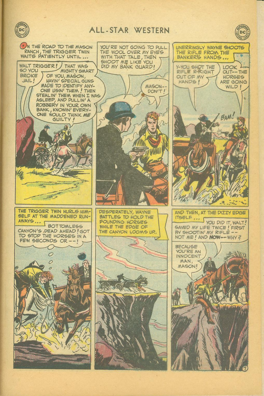 Read online All-Star Western (1951) comic -  Issue #61 - 37