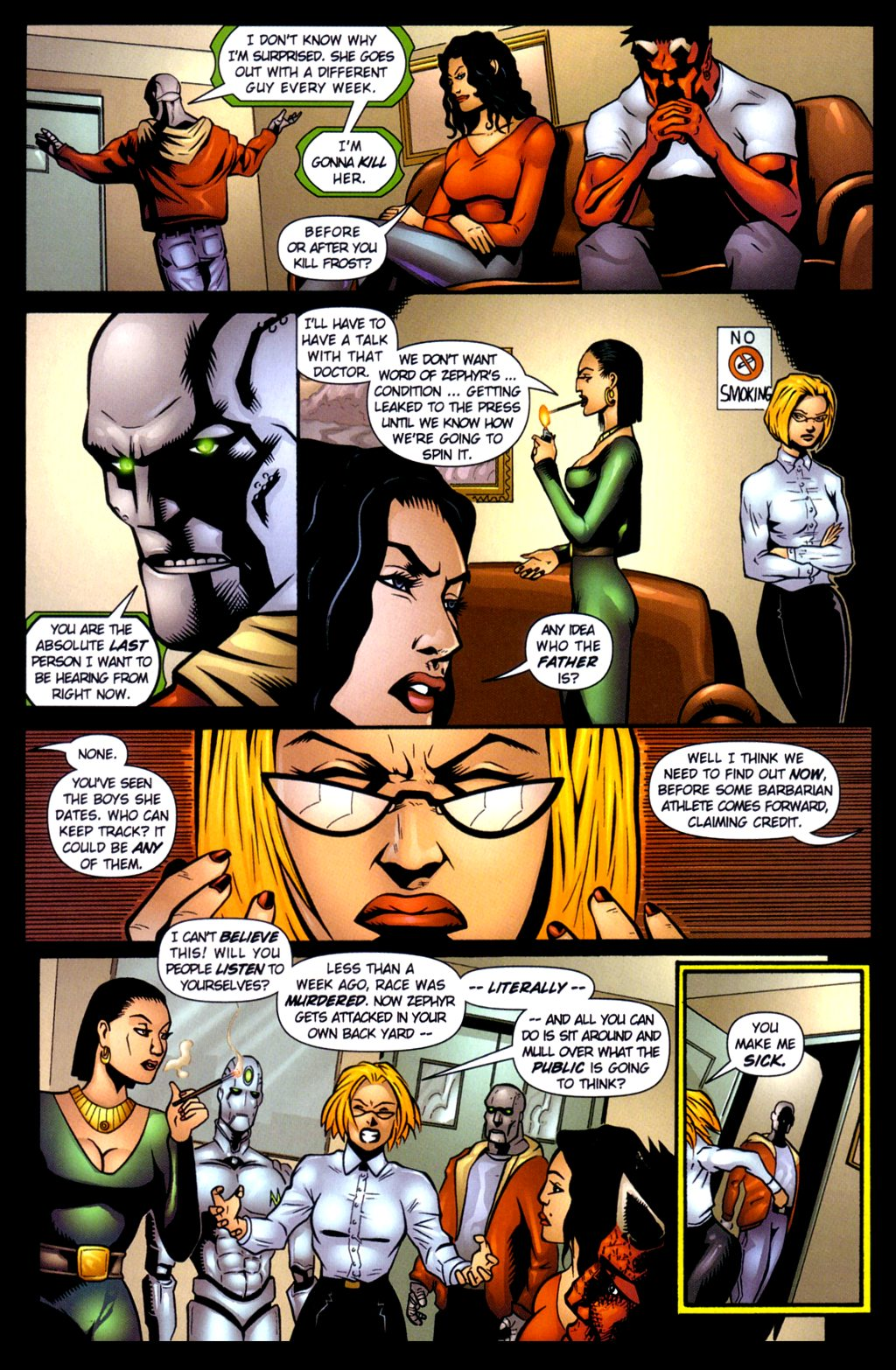 Read online Noble Causes (2002) comic -  Issue #3 - 13