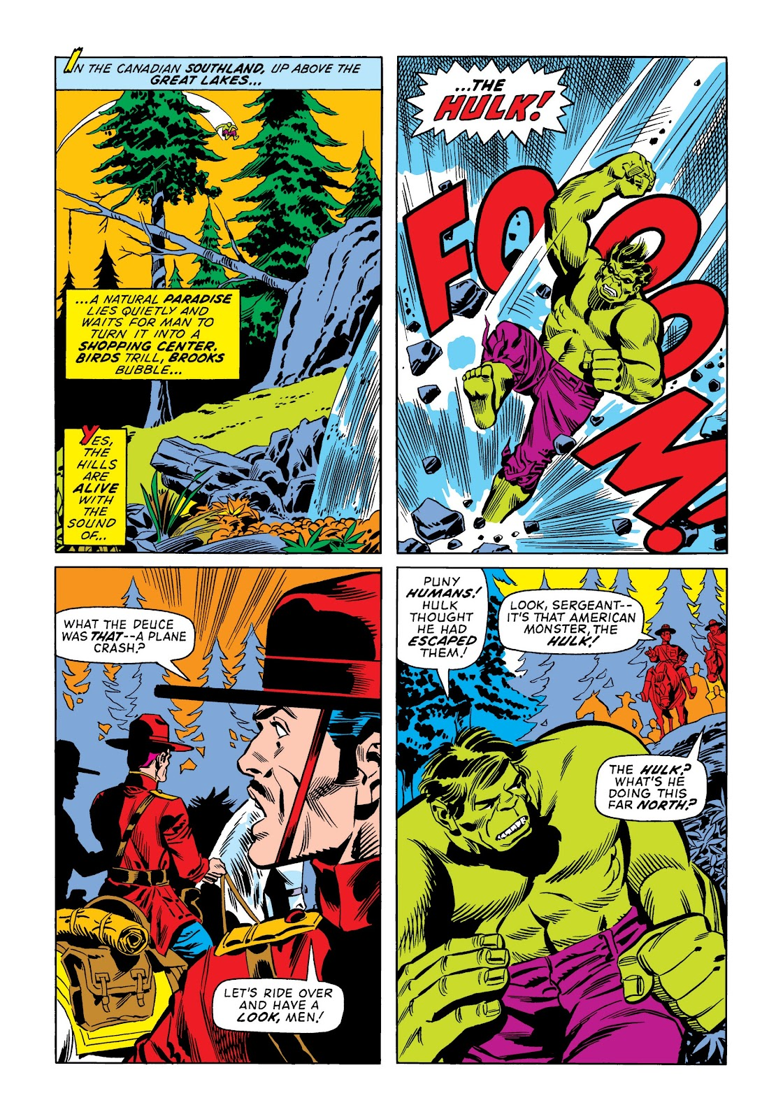 Read online Marvel Masterworks: The Incredible Hulk comic -  Issue # TPB 9 (Part 1) - 95