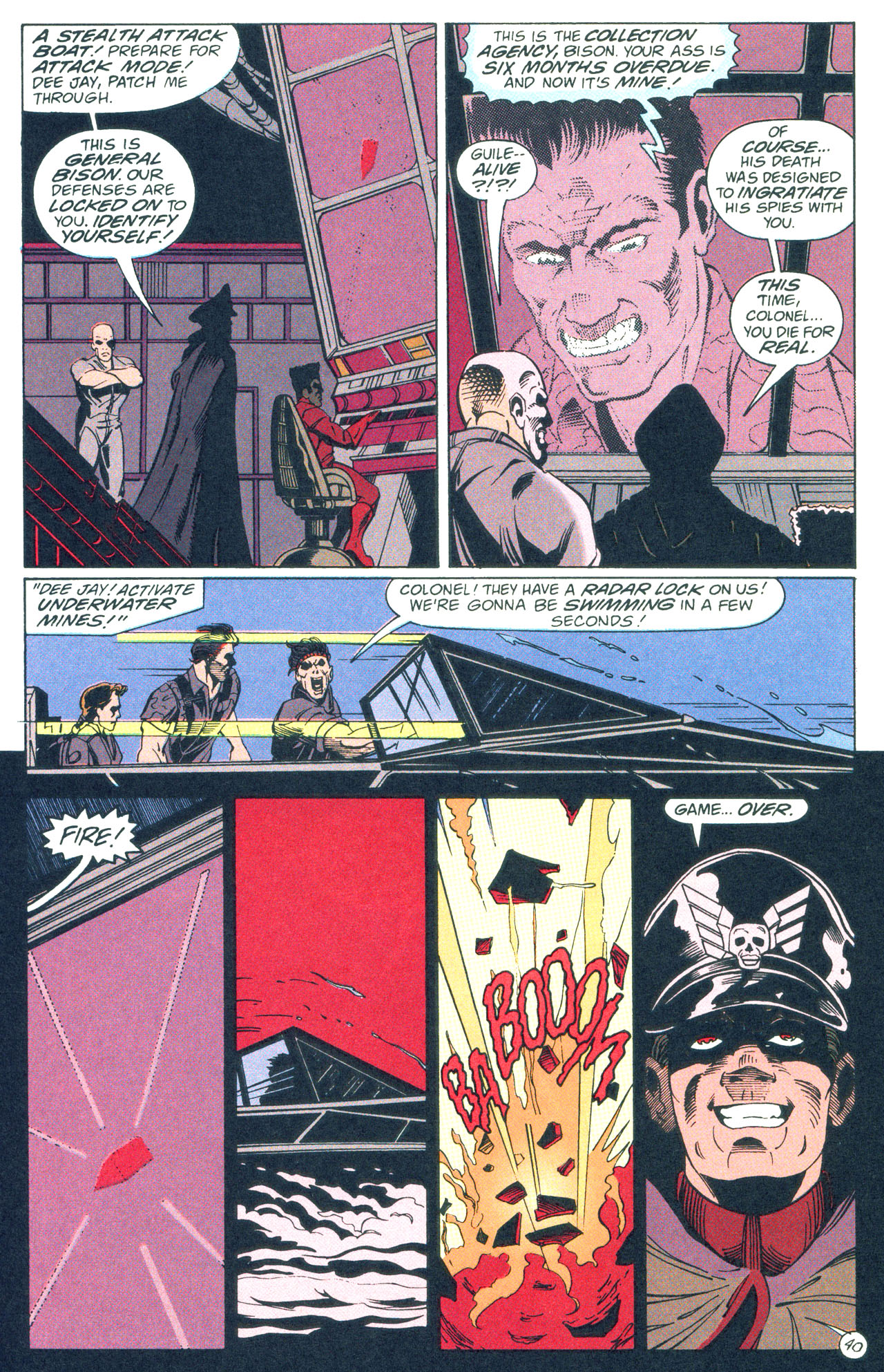 Read online Street Fighter: The Battle For Shadaloo comic -  Issue # Full - 41