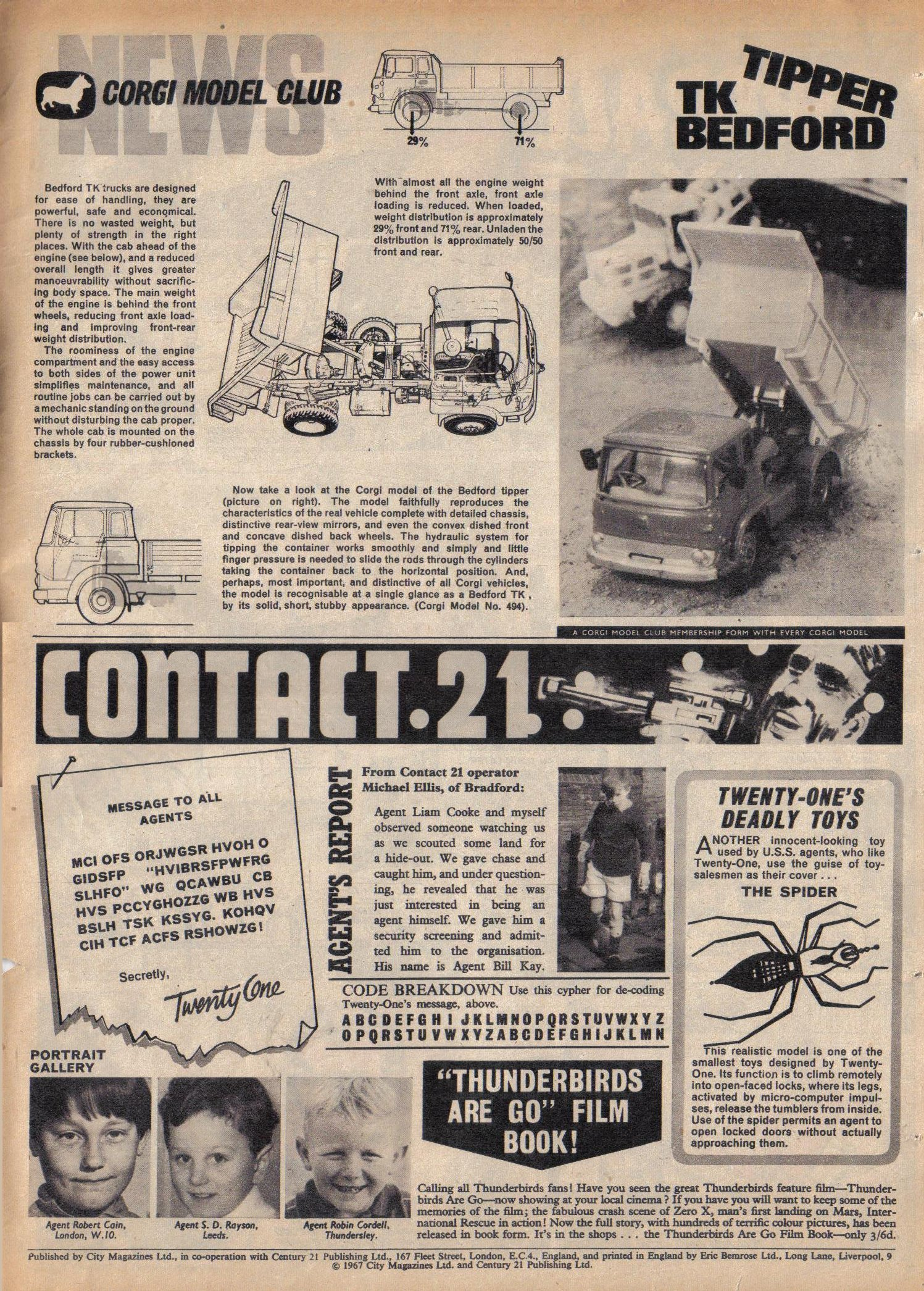 Read online TV Century 21 (TV 21) comic -  Issue #107 - 18