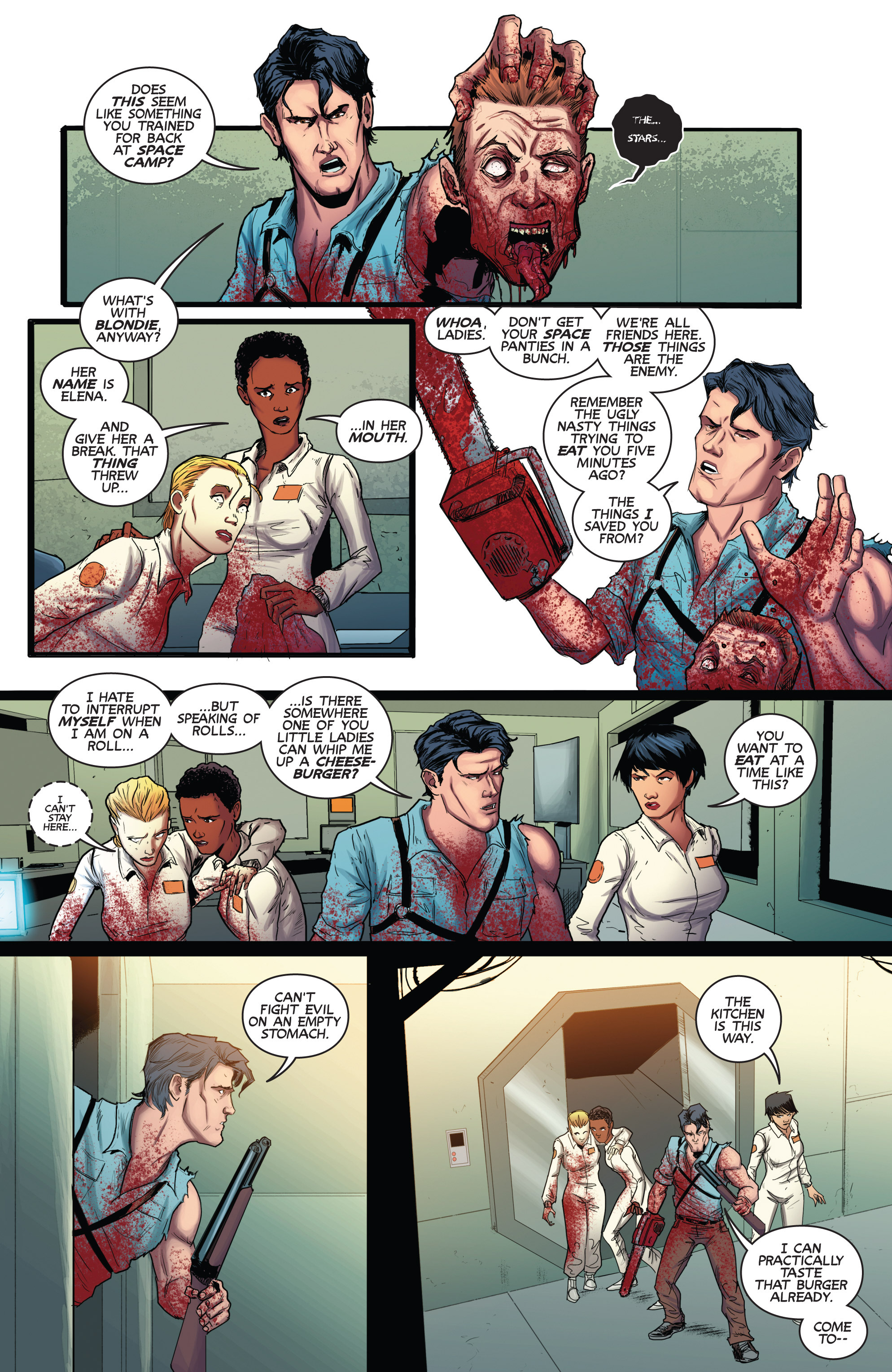 Read online Army of Darkness (2014) comic -  Issue #3 - 6