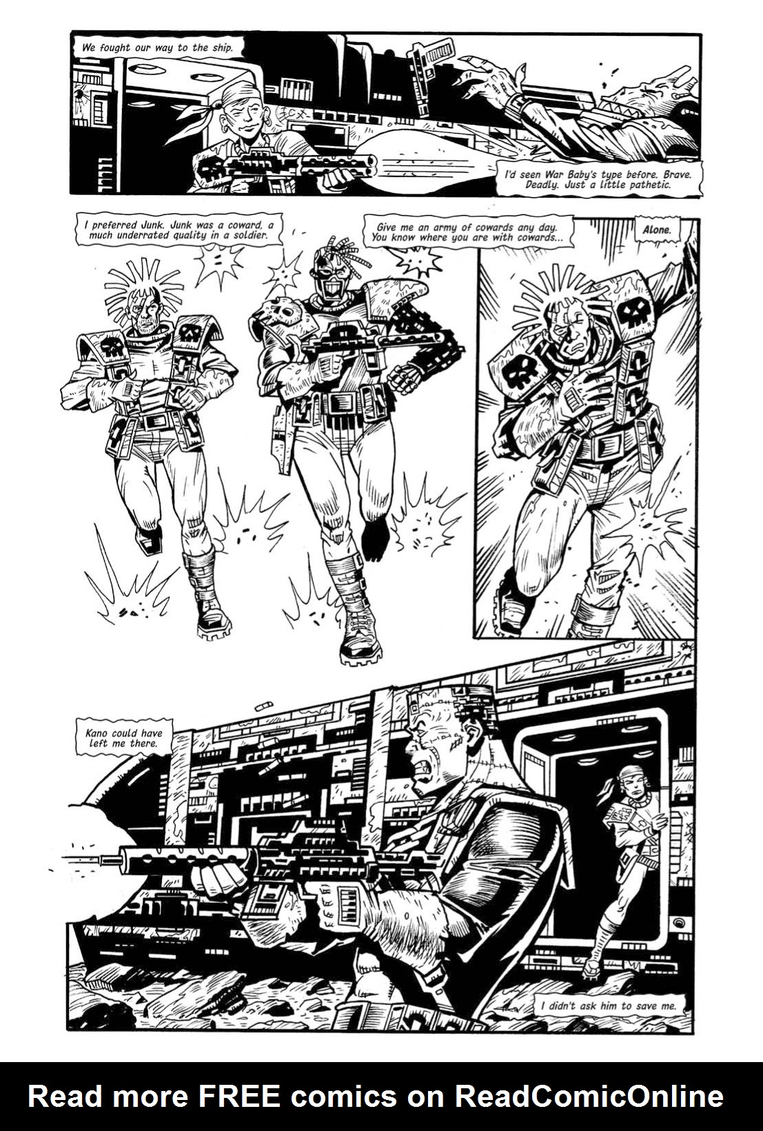 Read online The Complete Bad Company comic -  Issue # TPB - 358