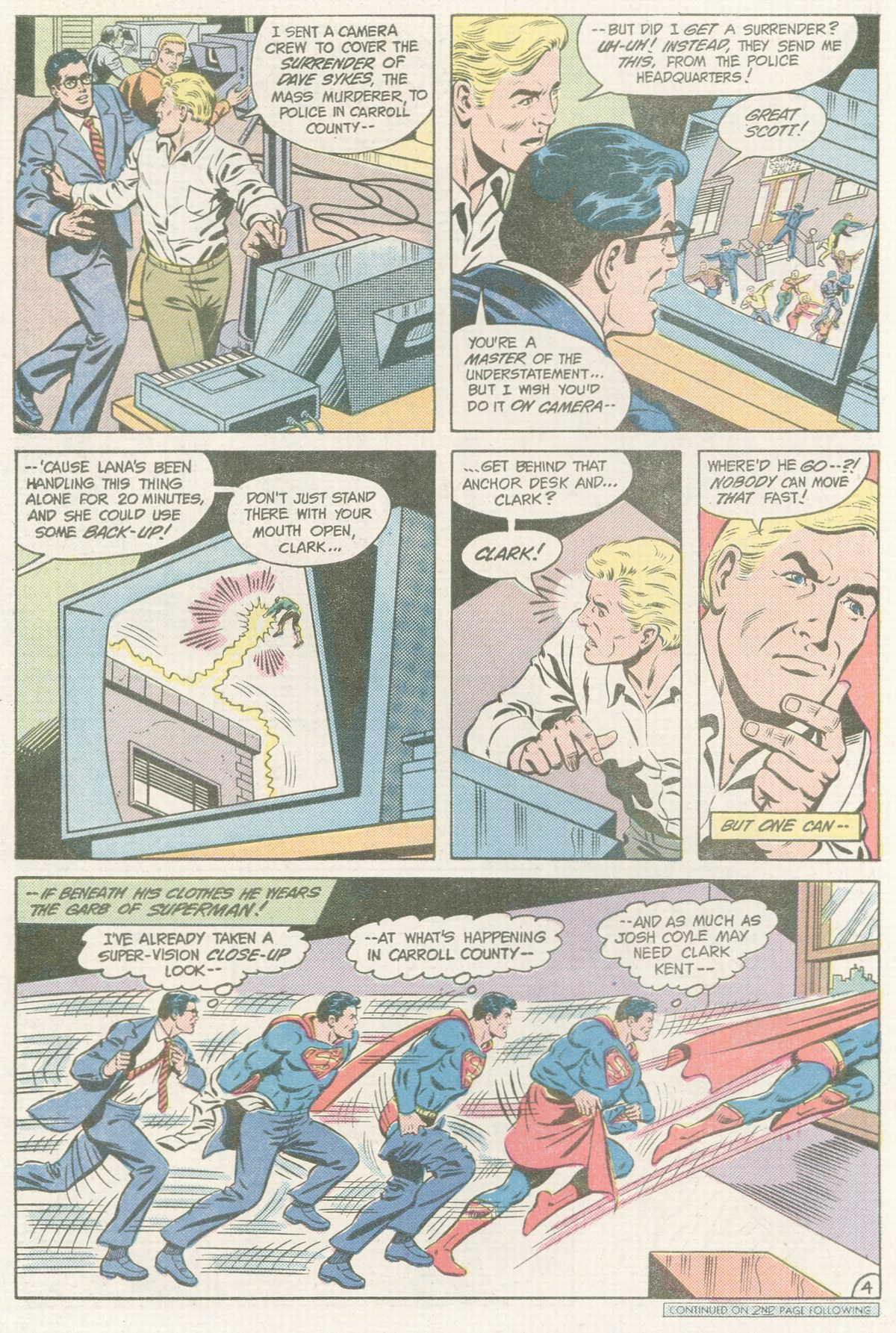 Read online Action Comics (1938) comic -  Issue #560 - 5