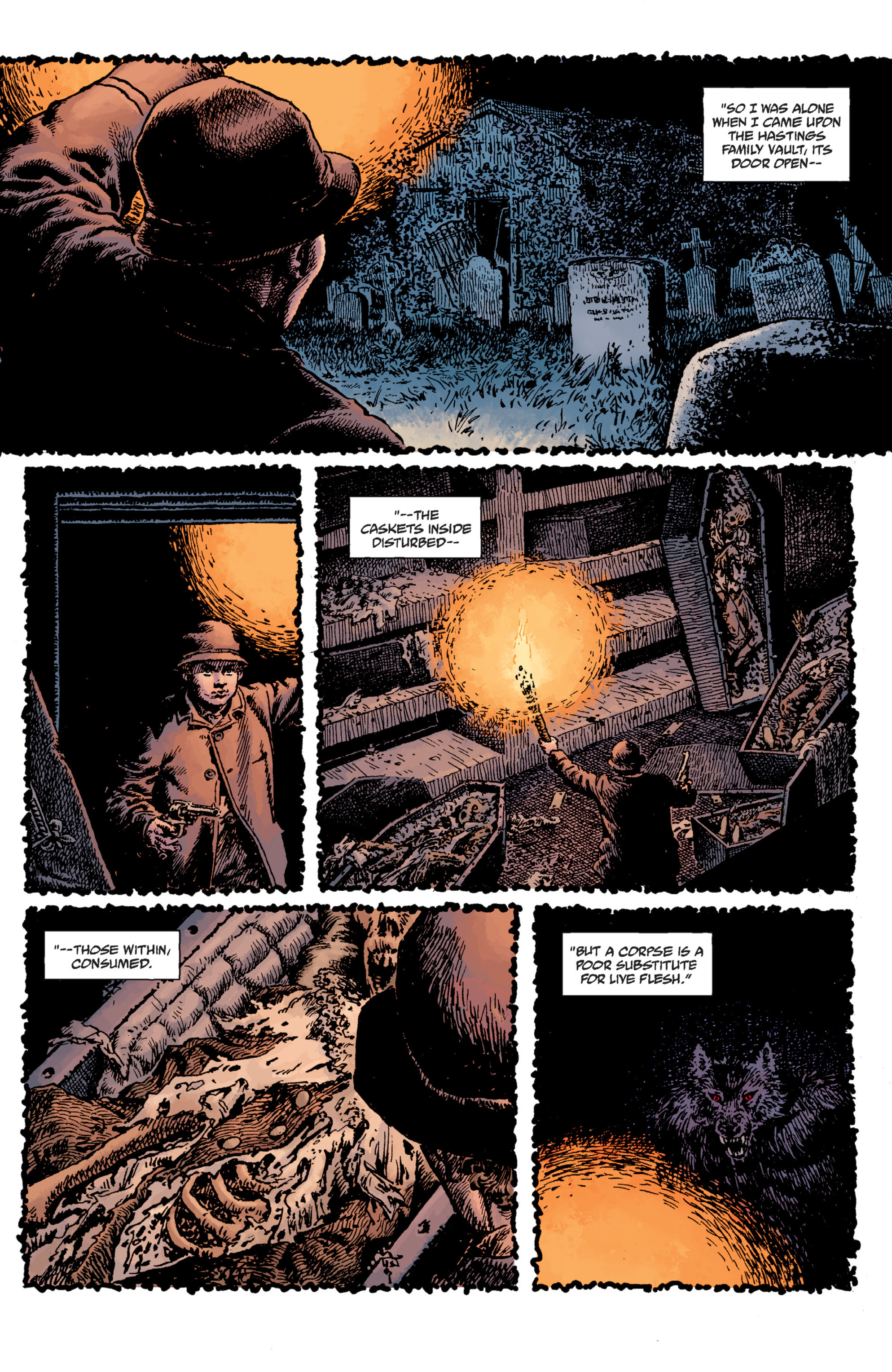 Read online Sir Edward Grey, Witchfinder: Lost and Gone Forever comic -  Issue # TPB - 42