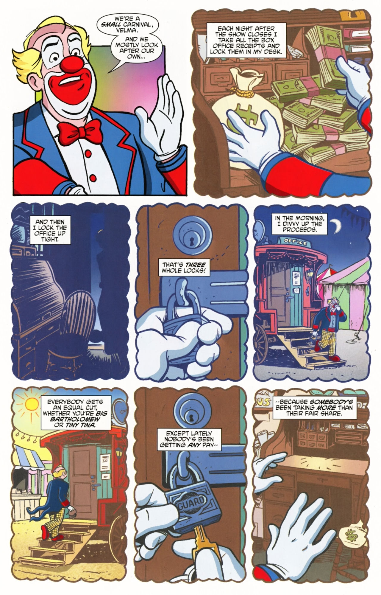 Read online Scooby-Doo: Where Are You? comic -  Issue #5 - 5