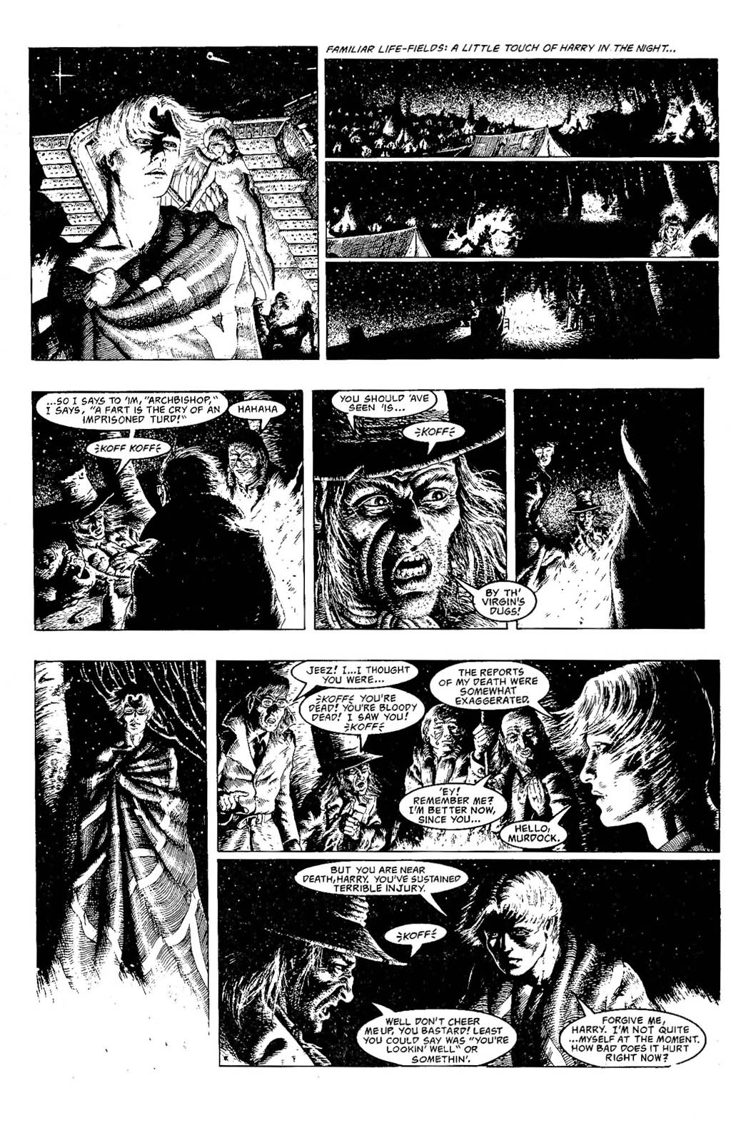 Read online The Adventures of Luther Arkwright comic -  Issue #7 - 9