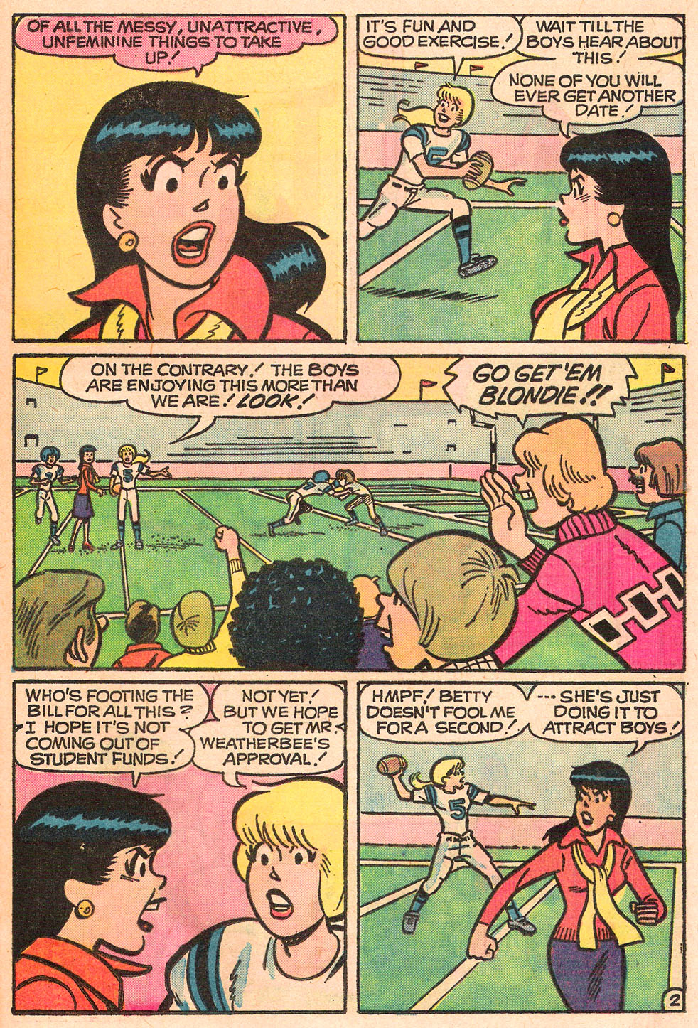 Read online Archie's Girls Betty and Veronica comic -  Issue #242 - 21