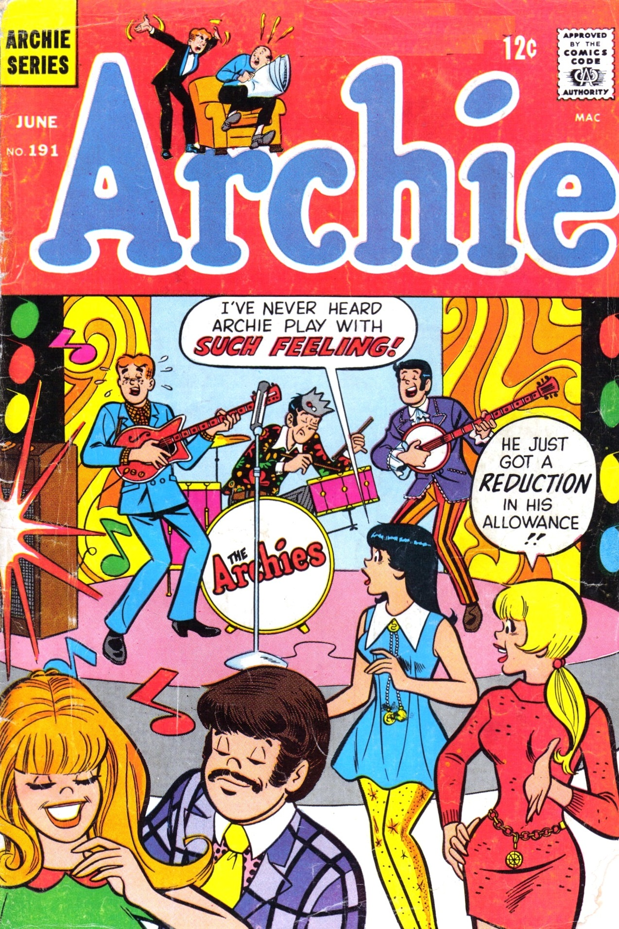 Read online Archie (1960) comic -  Issue #191 - 1