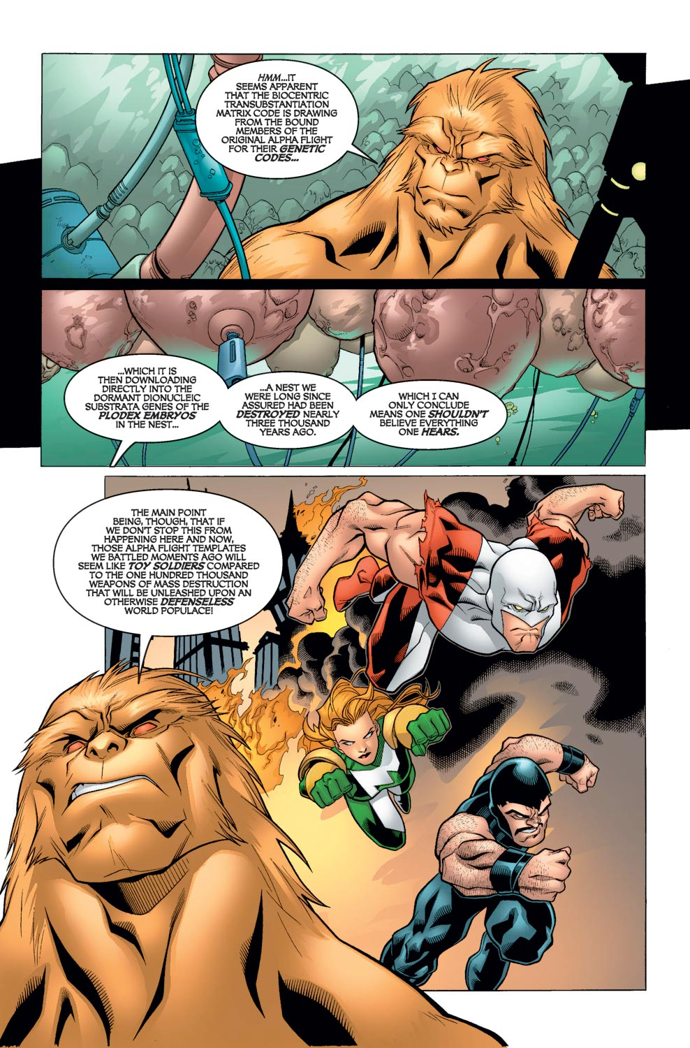 Alpha Flight (2004) issue 6 - Page 6