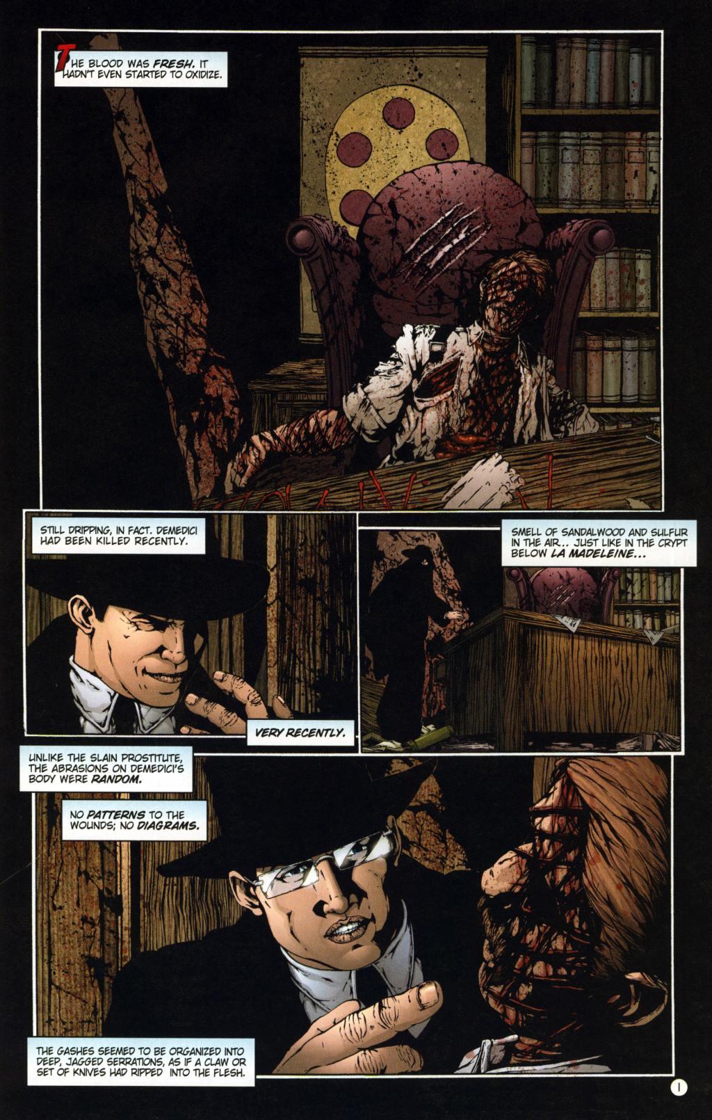 Read online Rex Mundi comic -  Issue #8 - 5