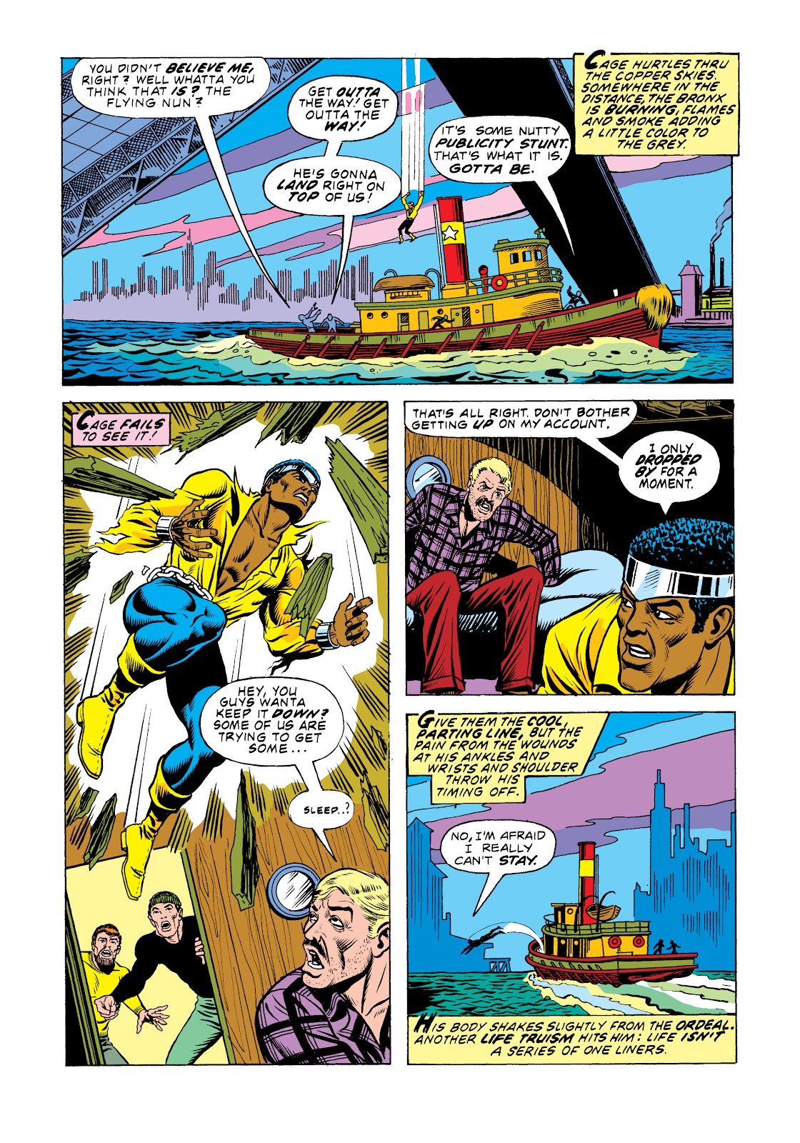 Read online Marvel Masterworks: Luke Cage, Power Man comic -  Issue # TPB 2 (Part 3) - 63