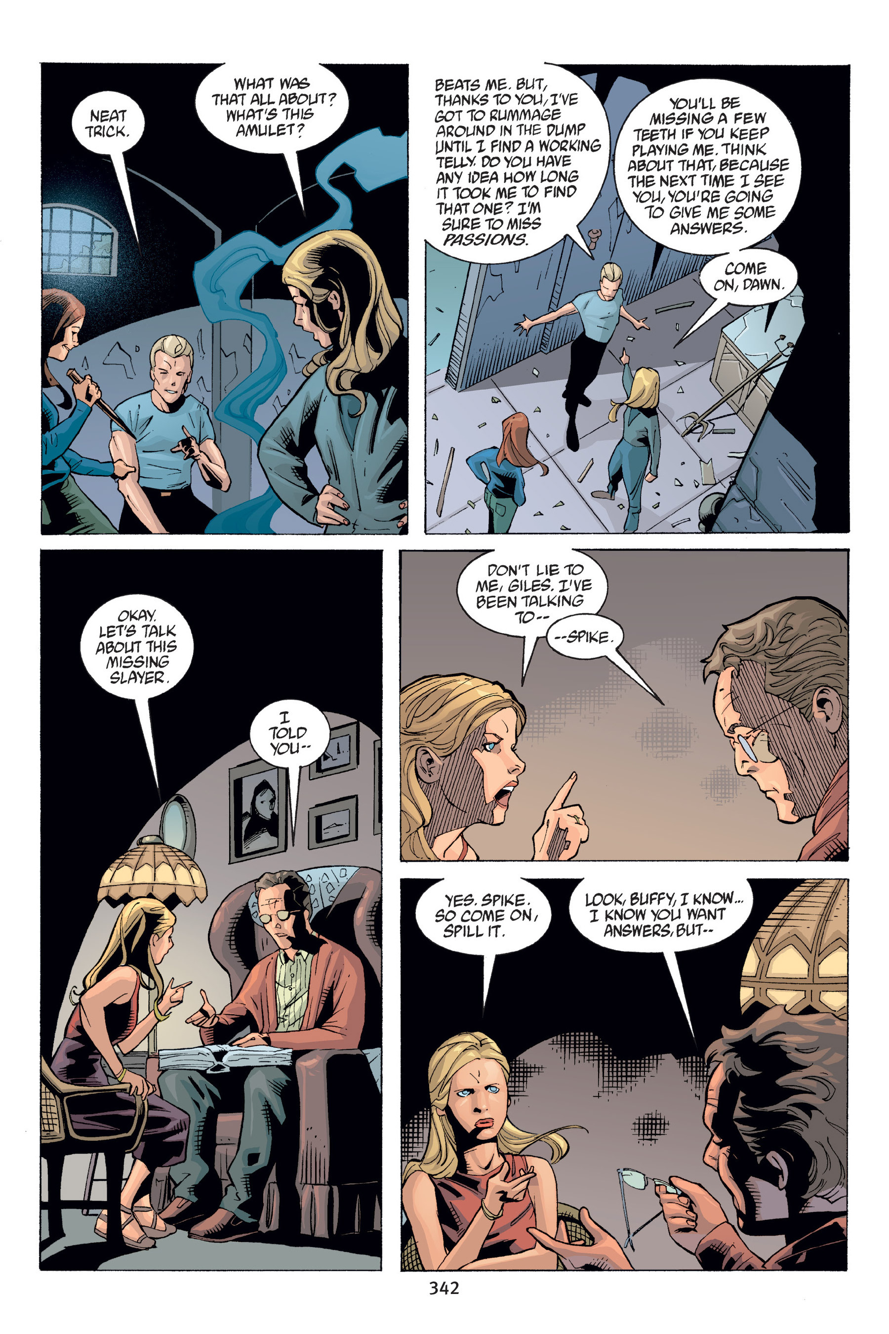 Read online Buffy the Vampire Slayer: Omnibus comic -  Issue # TPB 6 - 338