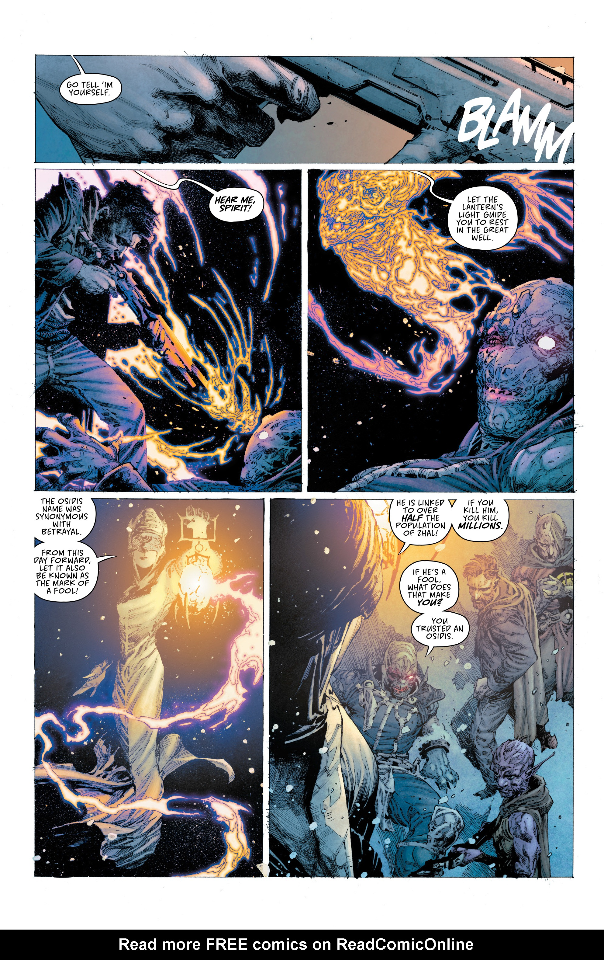 Read online Seven To Eternity comic -  Issue #4 - 14