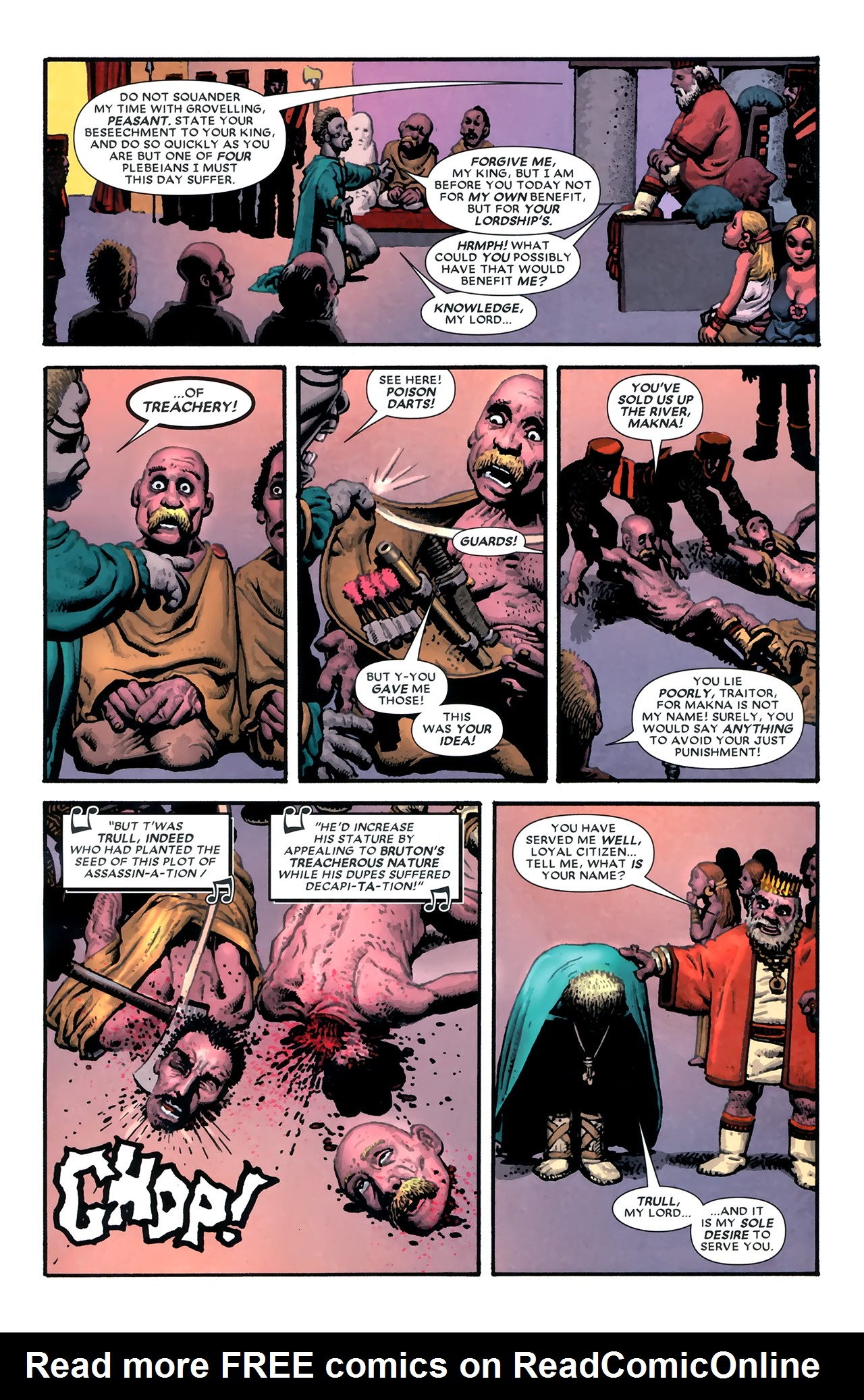 Read online Starr the Slayer comic -  Issue #3 - 4