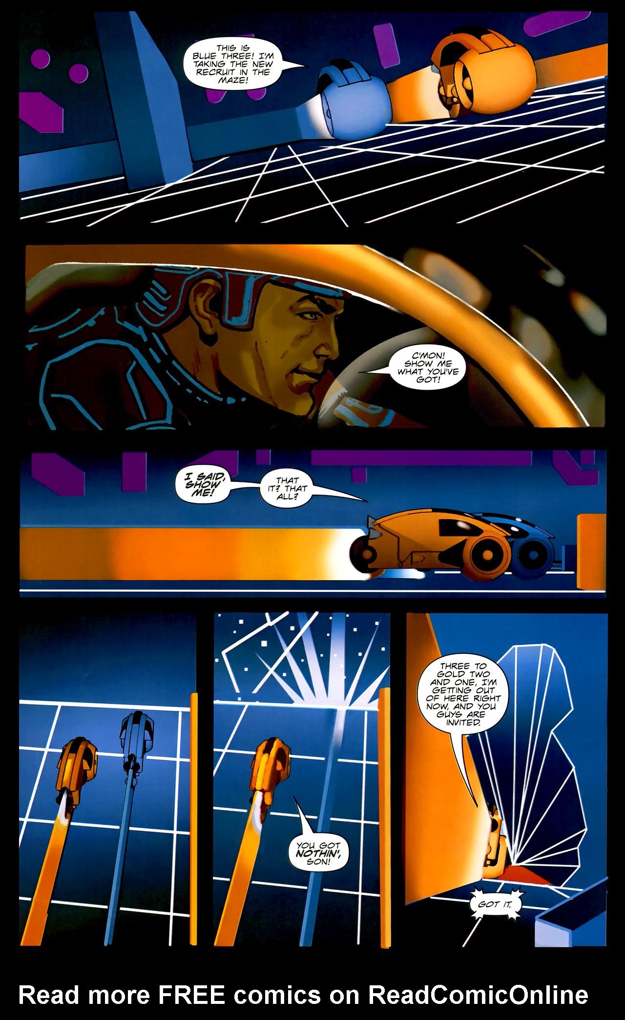 Read online TRON: Original Movie Adaptation comic -  Issue #2 - 9
