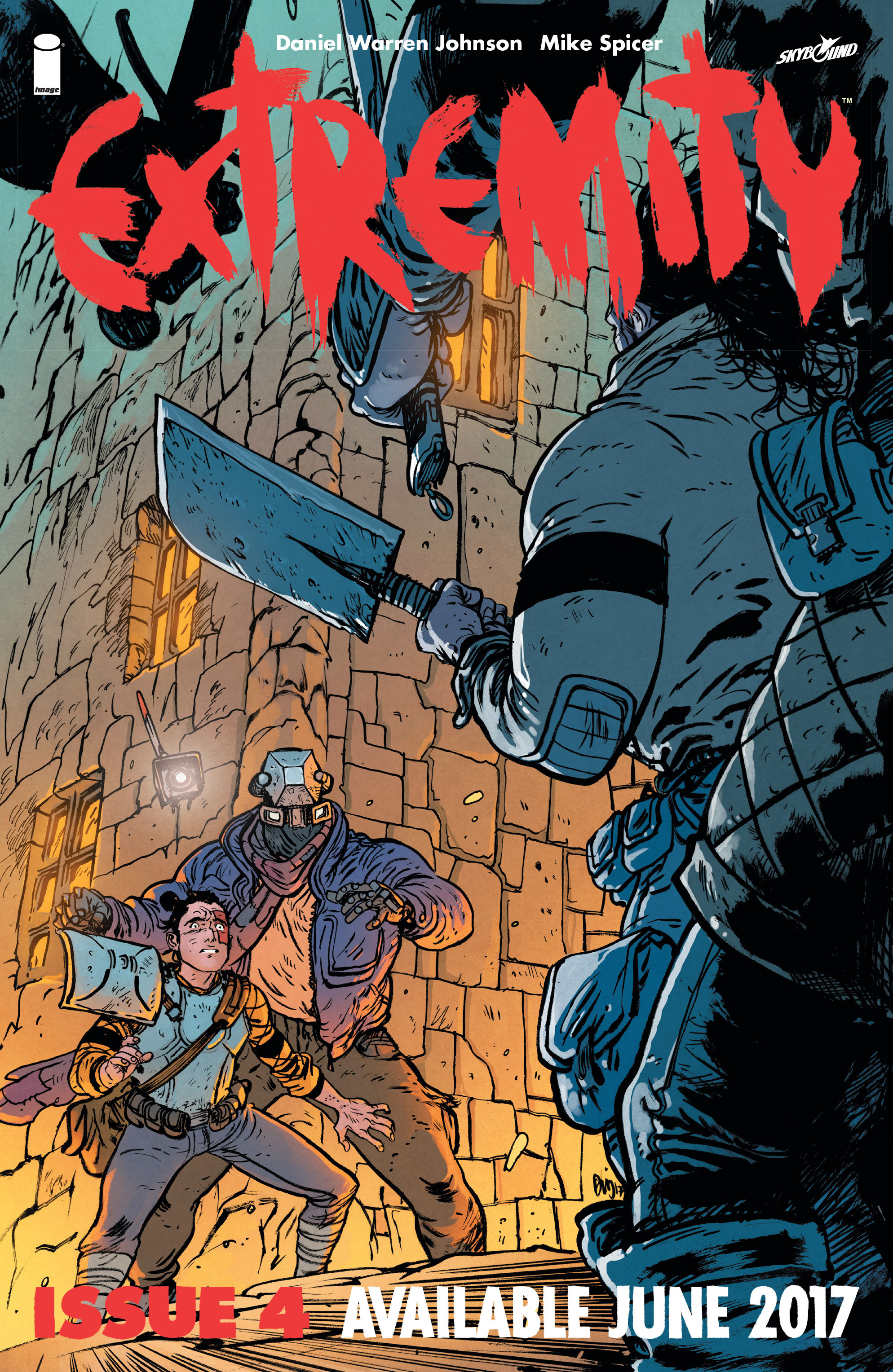 Read online Extremity comic -  Issue #3 - 27