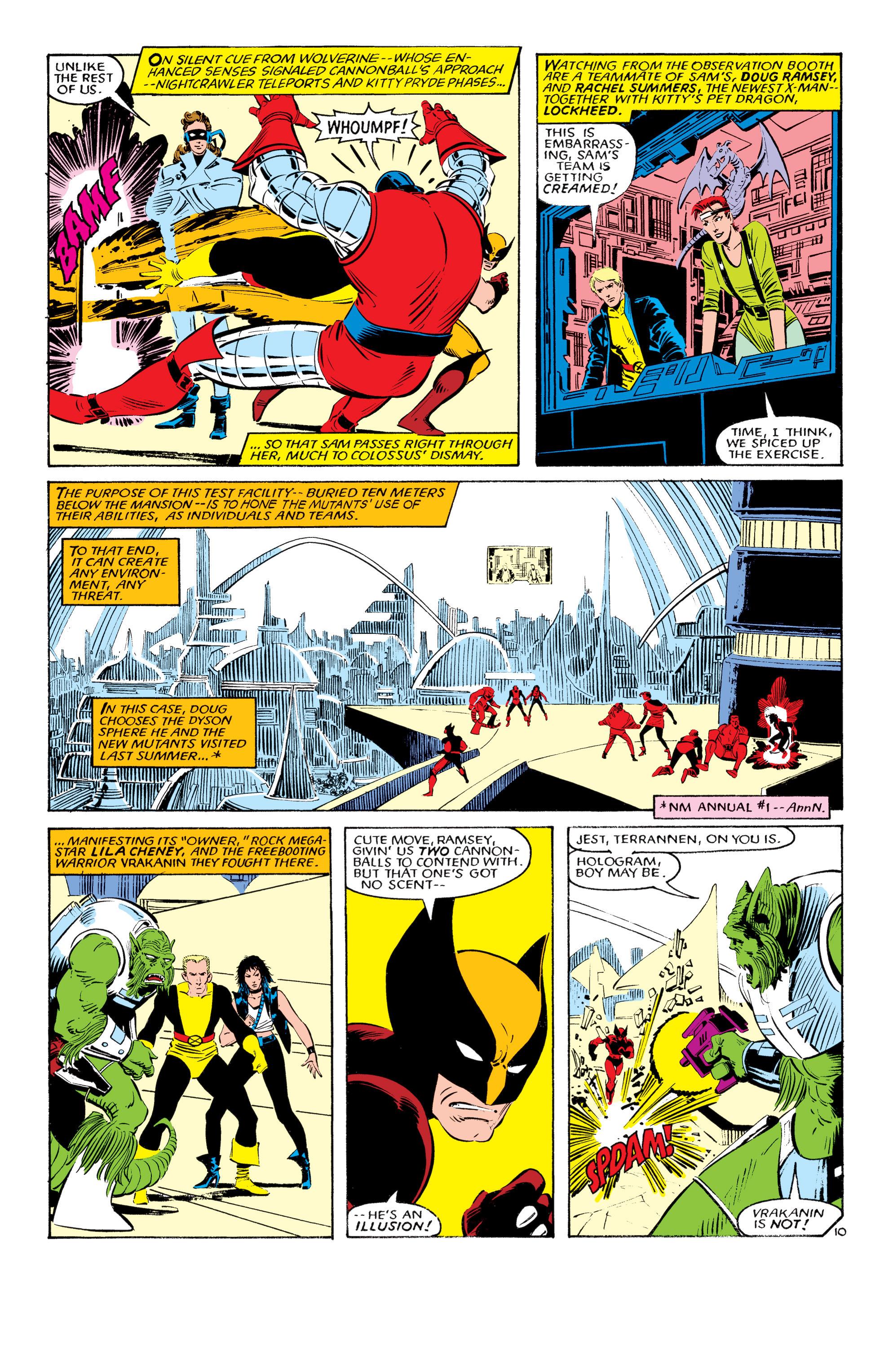 Read online Uncanny X-Men (1963) comic -  Issue #193 - 11