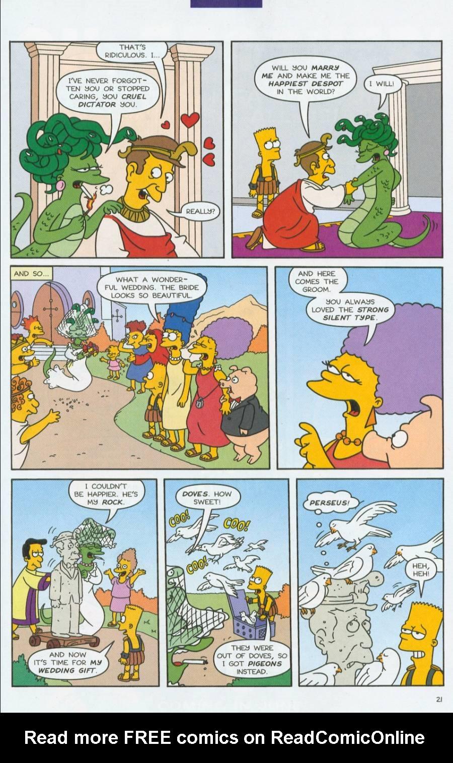 Read online Simpsons Comics comic -  Issue #70 - 22