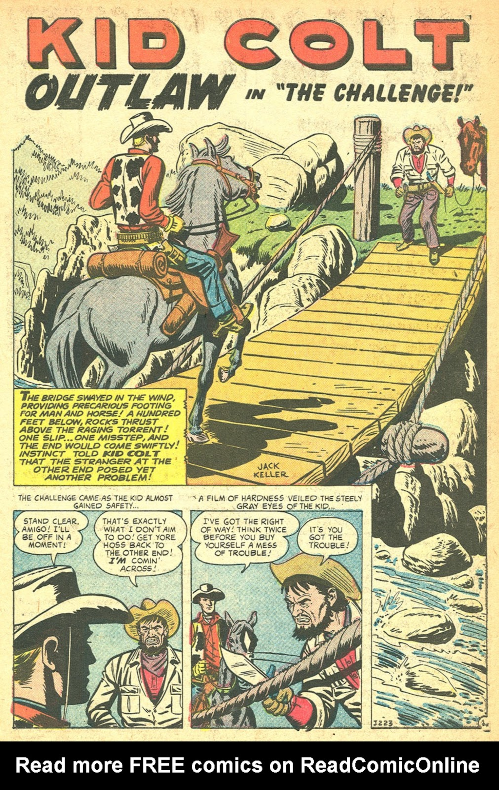 Kid Colt Outlaw issue 60 - Page 3