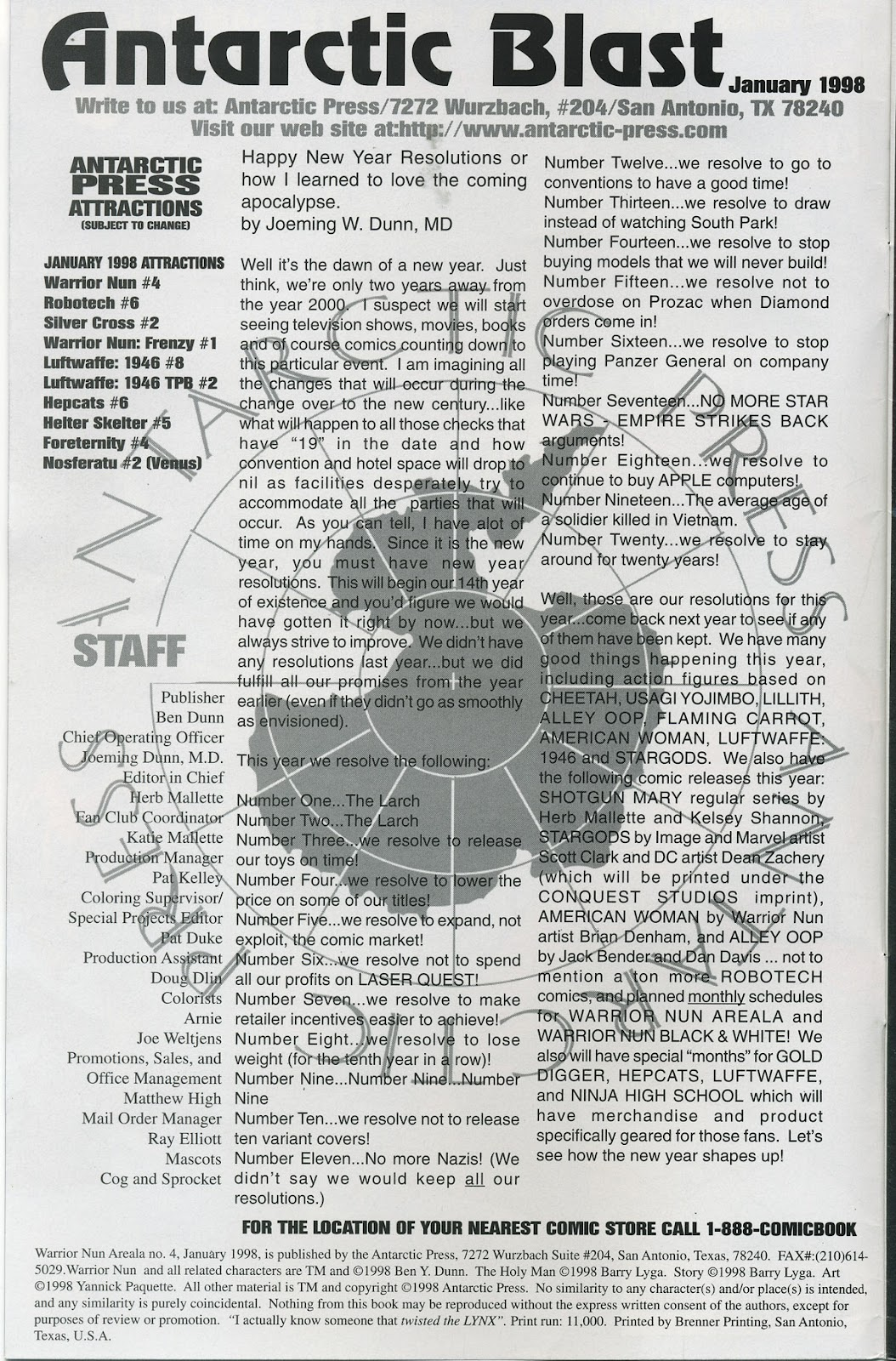 Warrior Nun Areala (1997) Issue #4 #4 - English 2