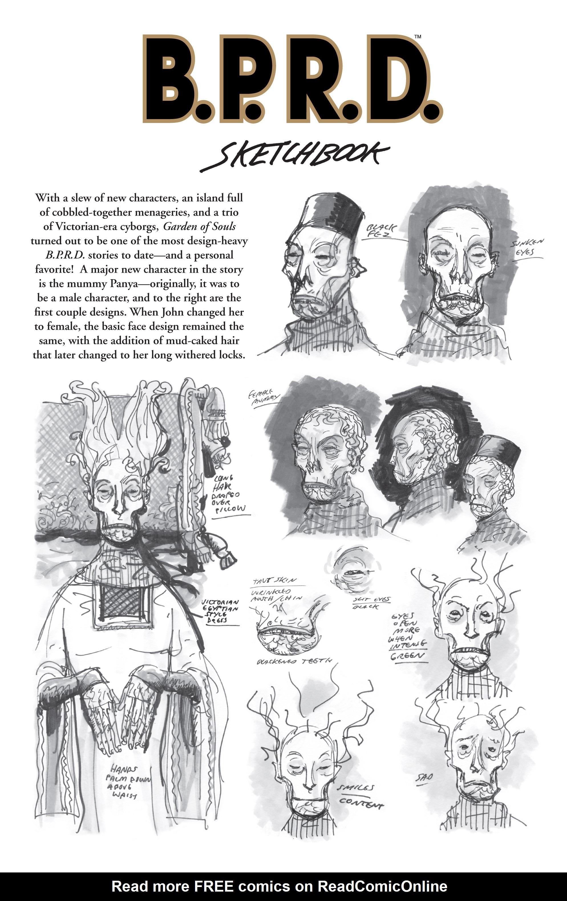 Read online B.P.R.D. (2003) comic -  Issue # TPB 7 - 139