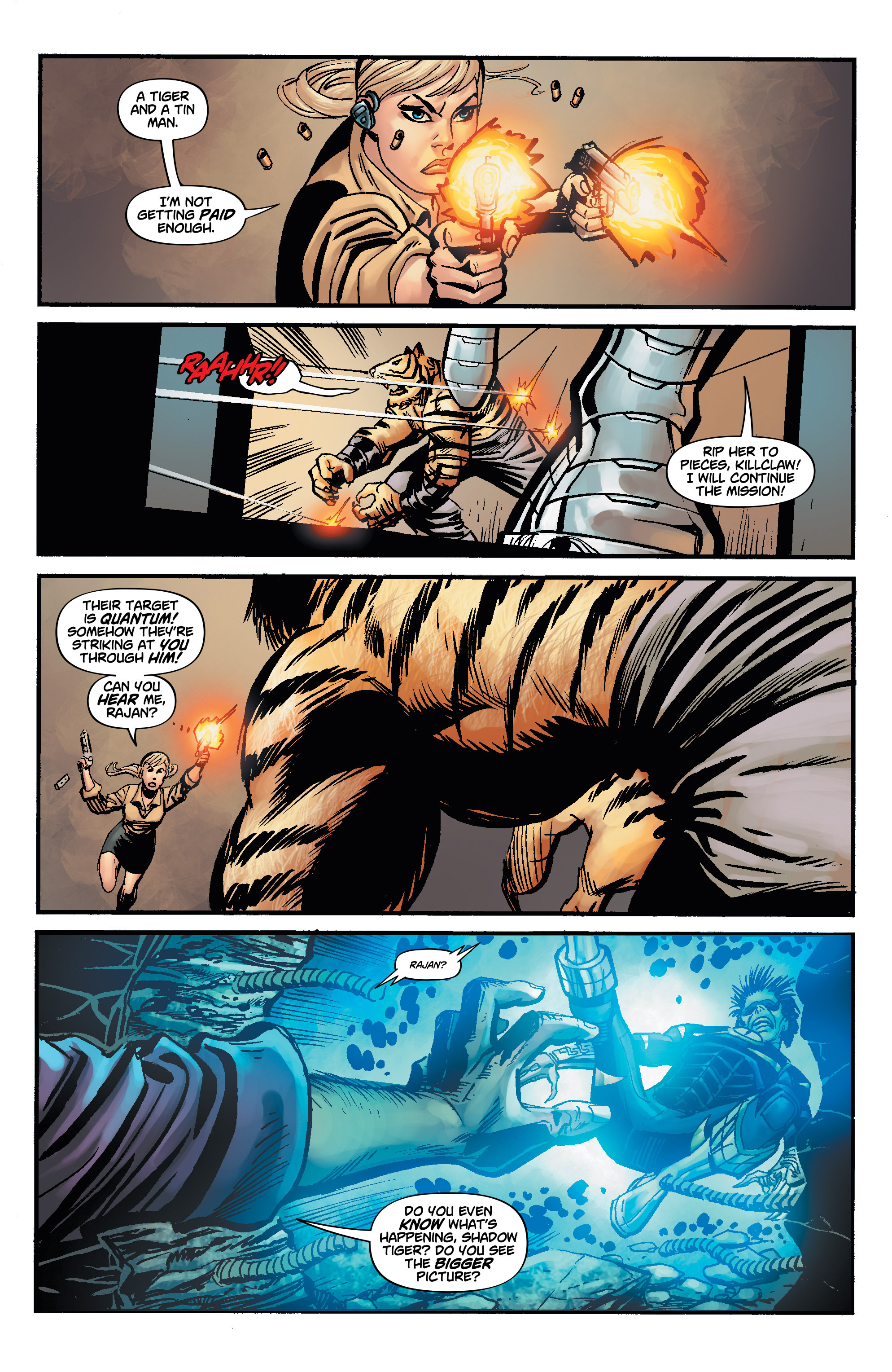 Read online Shadow Tiger comic -  Issue #4 - 7