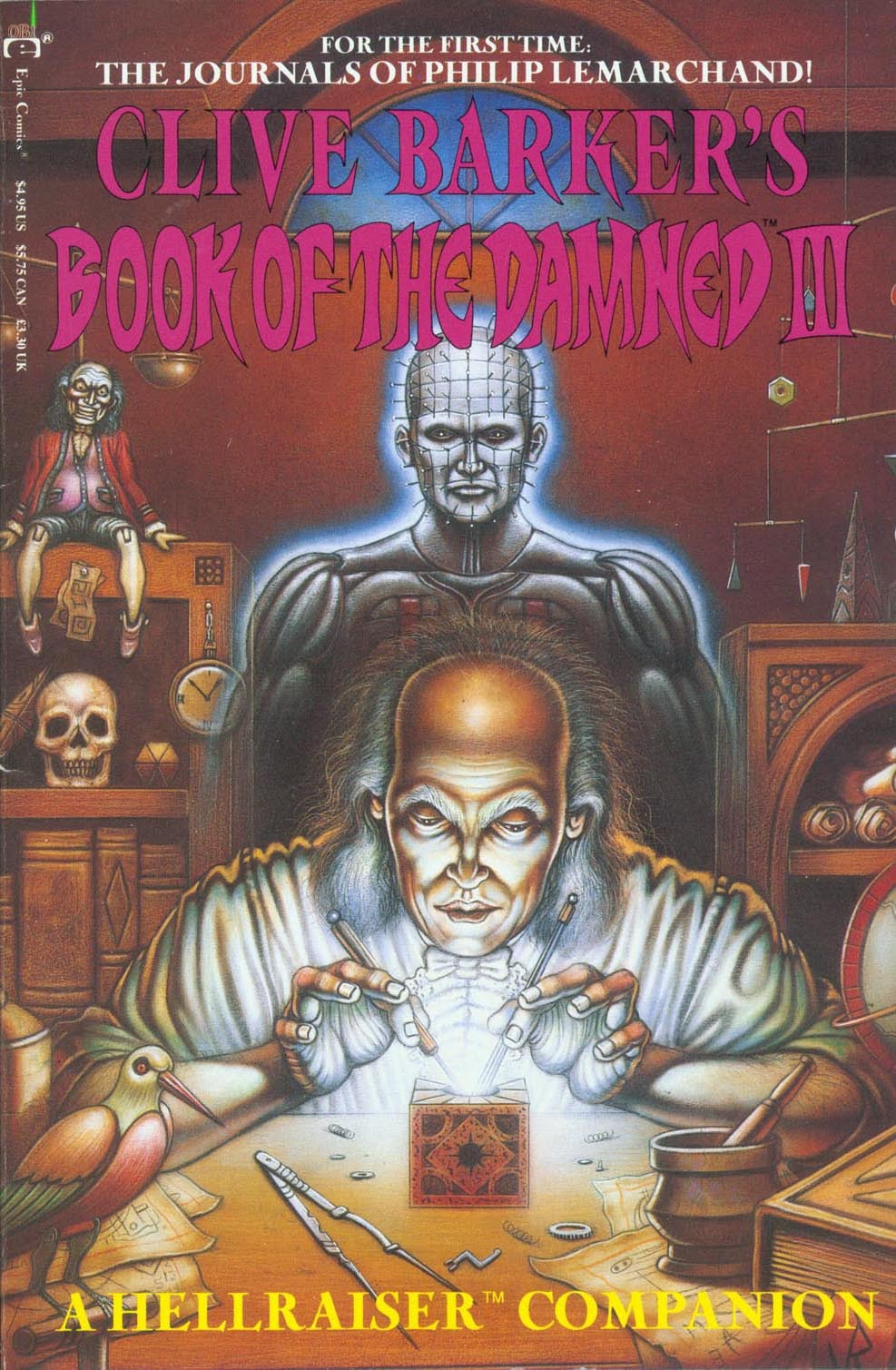 Clive Barkers Book of the Damned: A Hellraiser Companion 3 Page 1