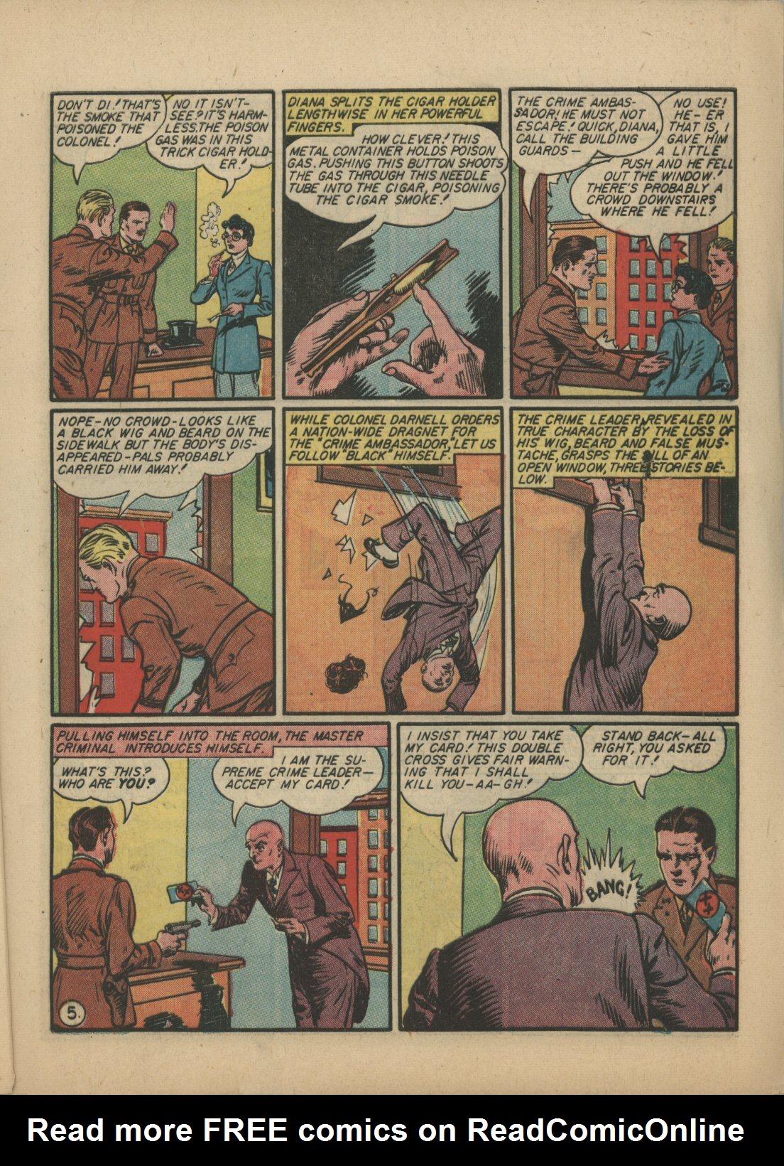 Read online Sensation (Mystery) Comics comic -  Issue #21 - 6