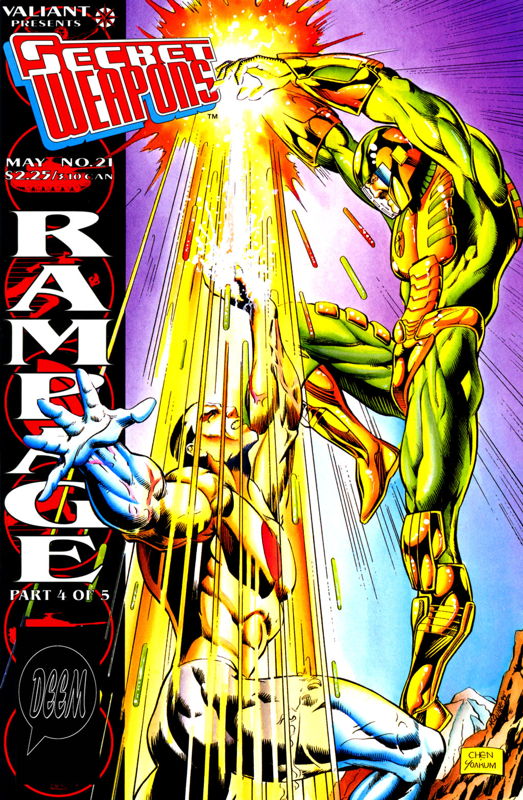 Read online Secret Weapons comic -  Issue #21 - 1