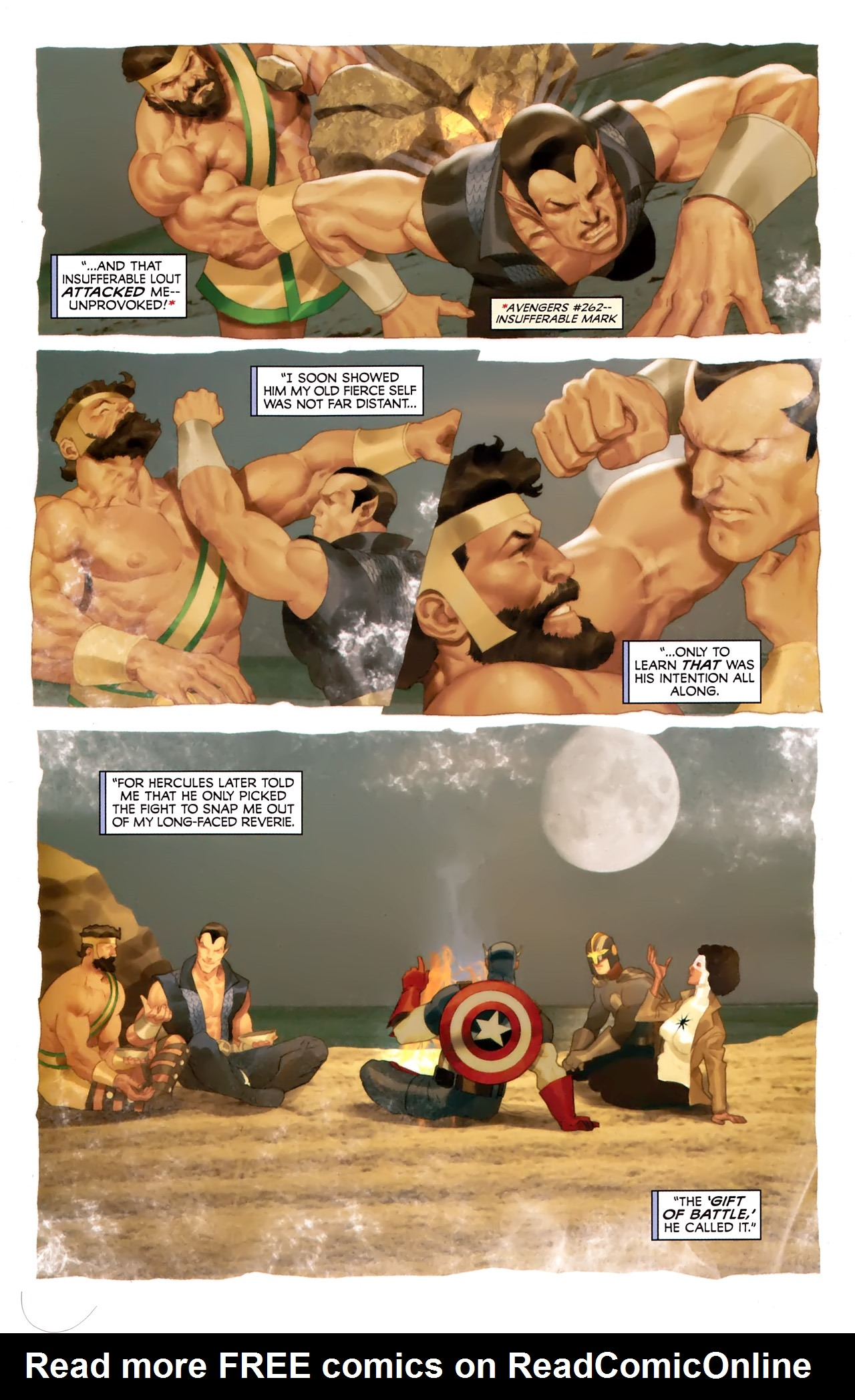 Read online Hercules: Fall of an Avenger comic -  Issue #1 - 14