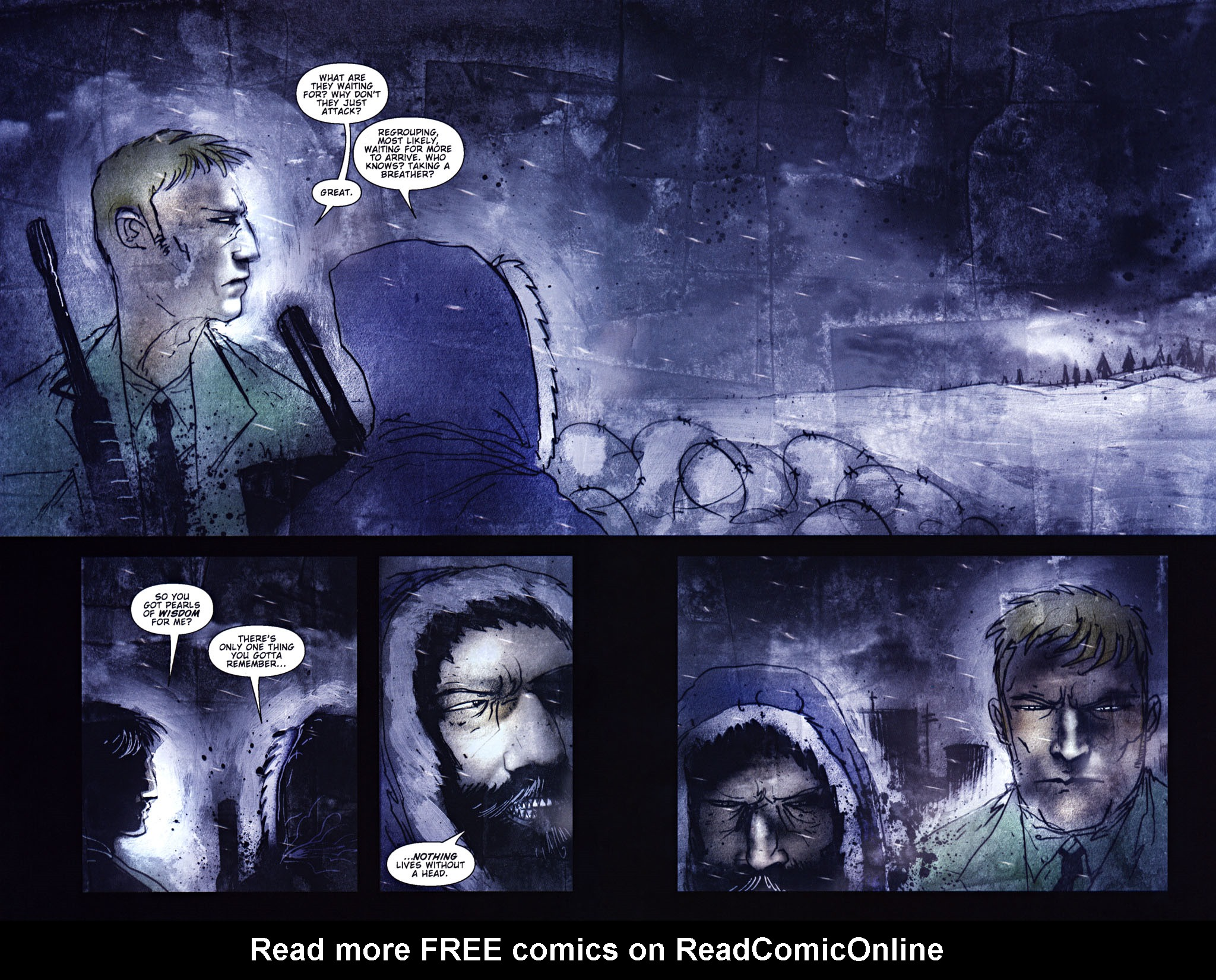 Read online 30 Days of Night: Return to Barrow comic -  Issue #5 - 4