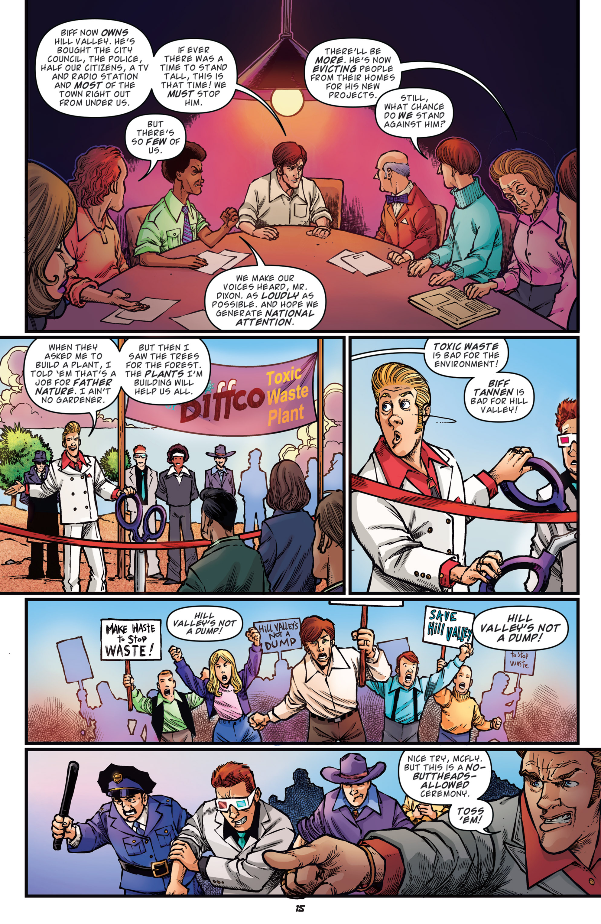Read online Back to the Future: Biff to the Future comic -  Issue #3 - 17